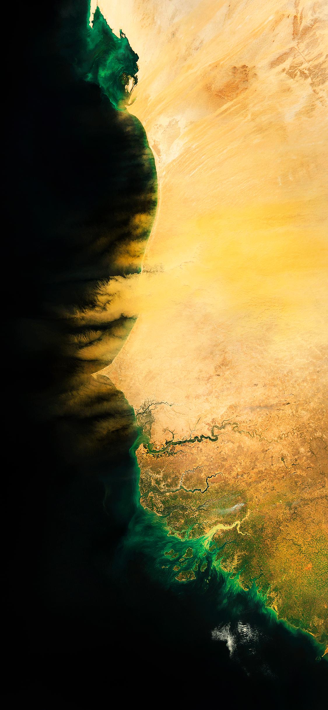 iPhone wallpaper satellite images africa Satellite images