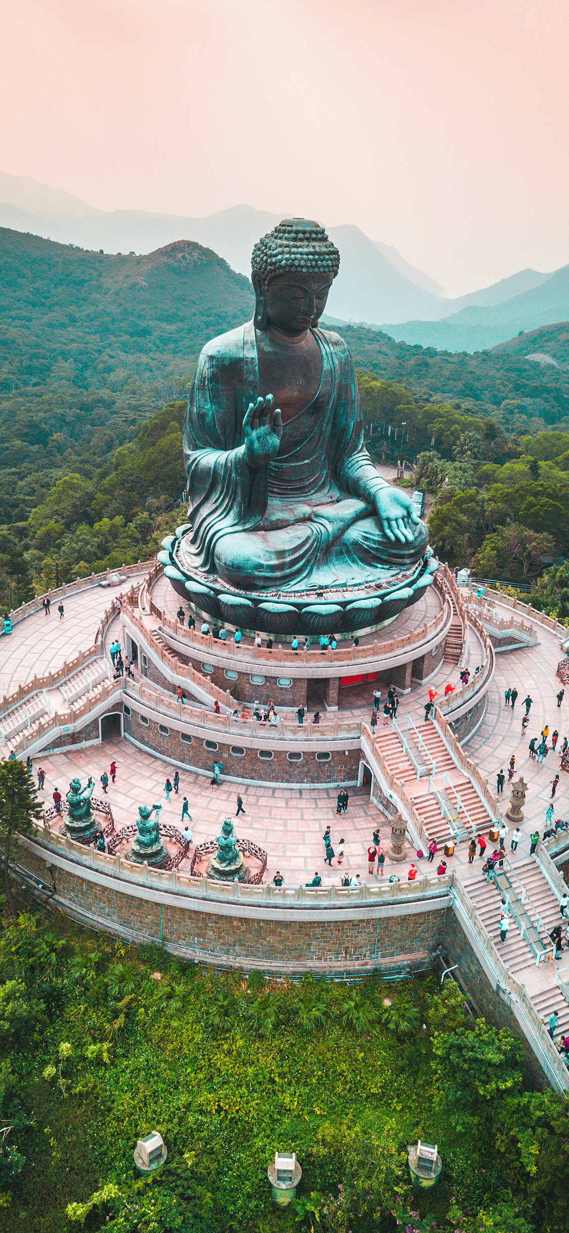 iPhone wallpaper budha hong kong Budha