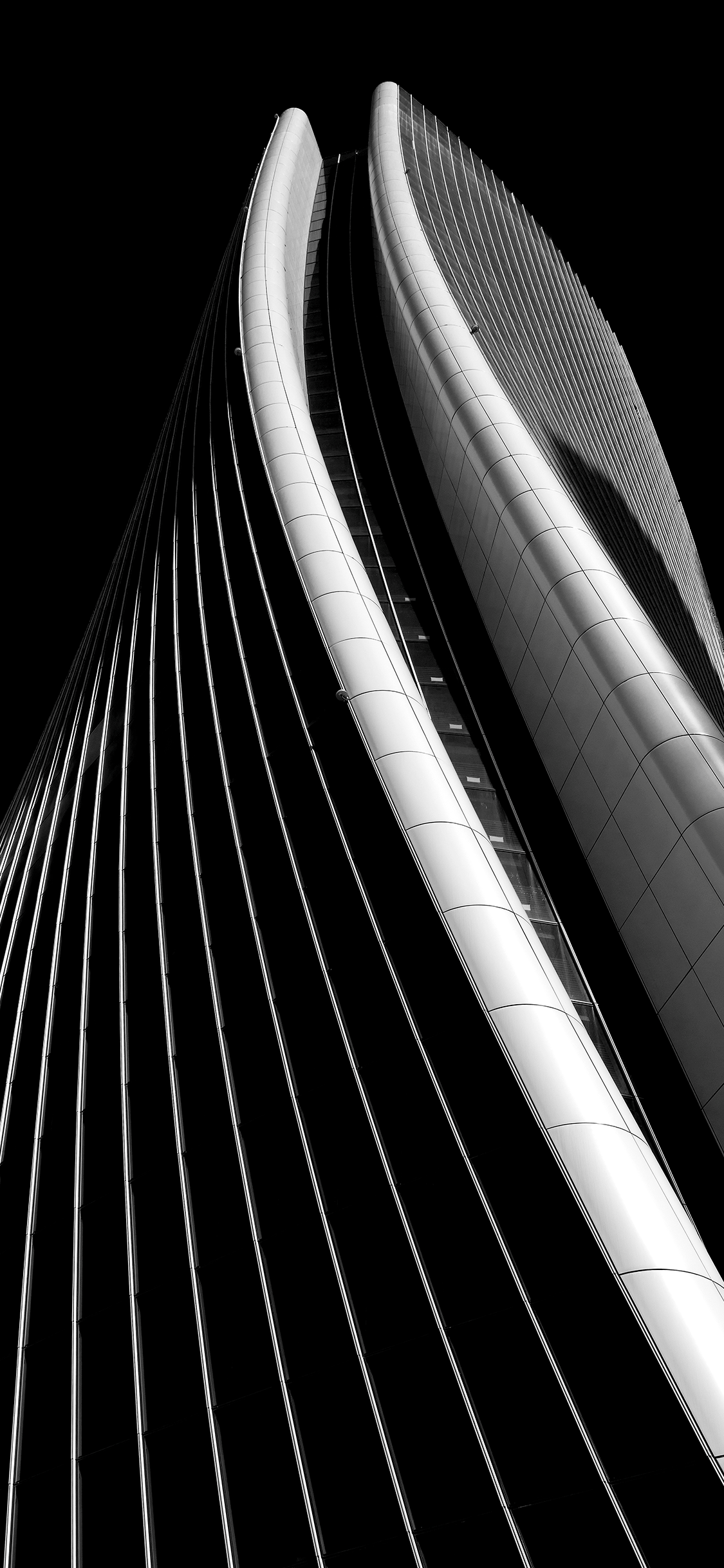 iPhone wallpaper building black Fonds d'écran iPhone du 24/08/2018
