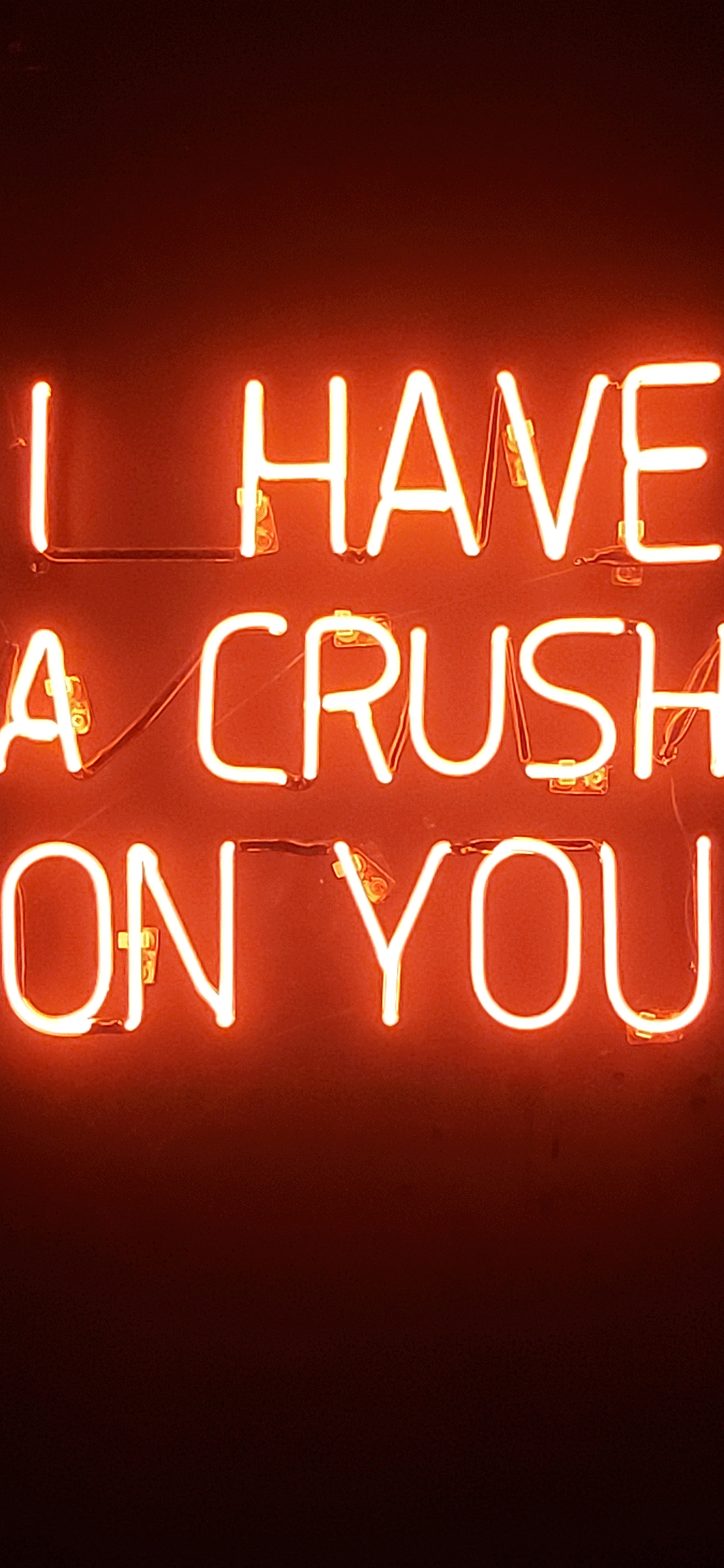 iPhone wallpaper neon sign crush Fonds d'écran iPhone du 31/08/2018