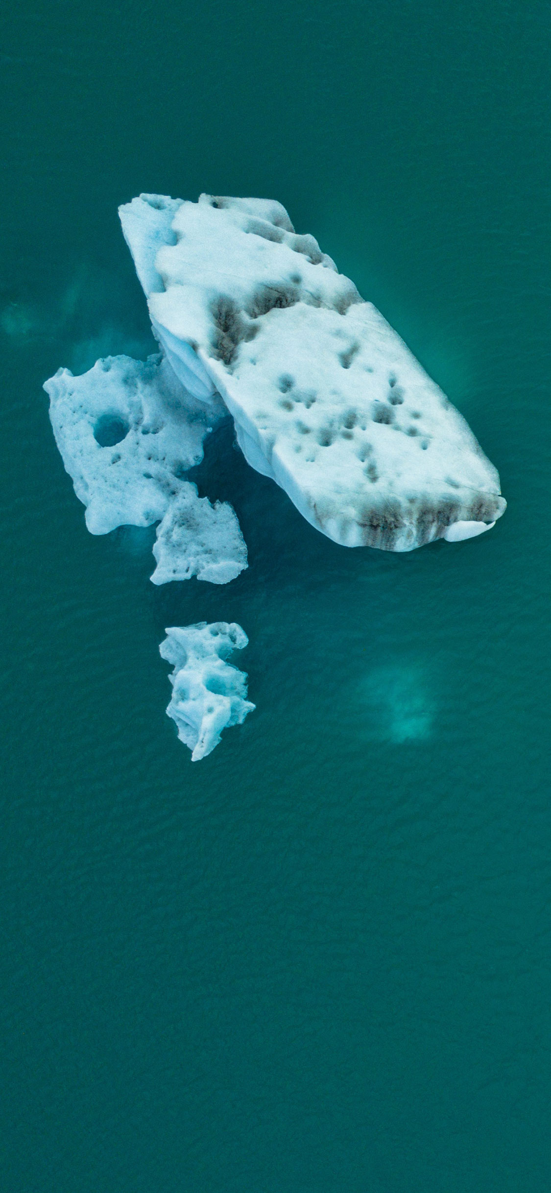 iPhone wallpaper iceberg green Fonds d'écran iPhone du 05/09/2018