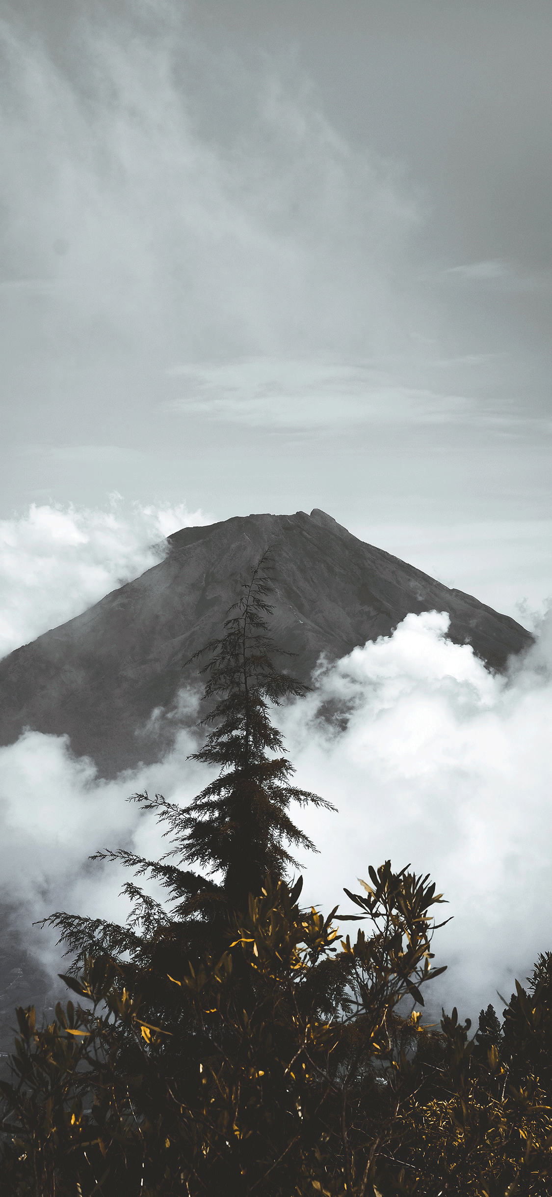 iPhone wallpaper volcano mount sundoro Fonds d'écran iPhone du 17/09/2018