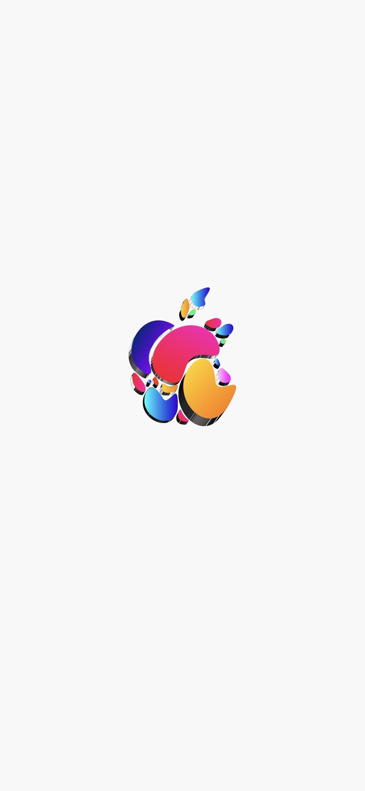 29 Fonds d'écran avec le logo Apple pour iPhone