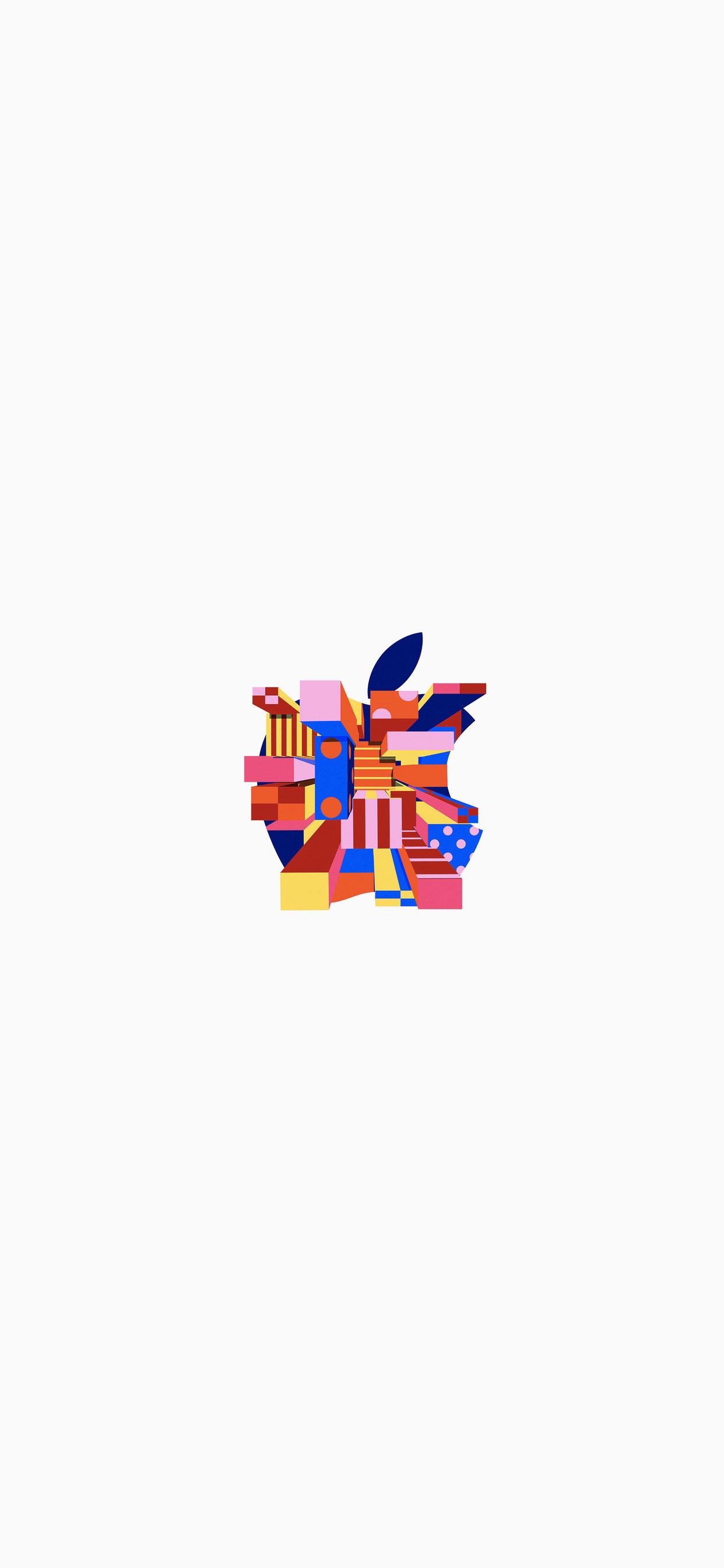 3 Fonds d'écran avec le logo Apple pour iPhone