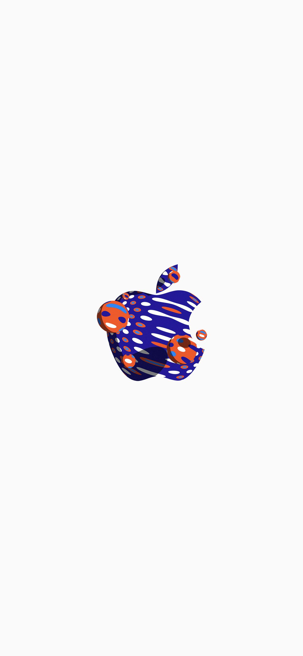 4 Fonds d'écran avec le logo Apple pour iPhone
