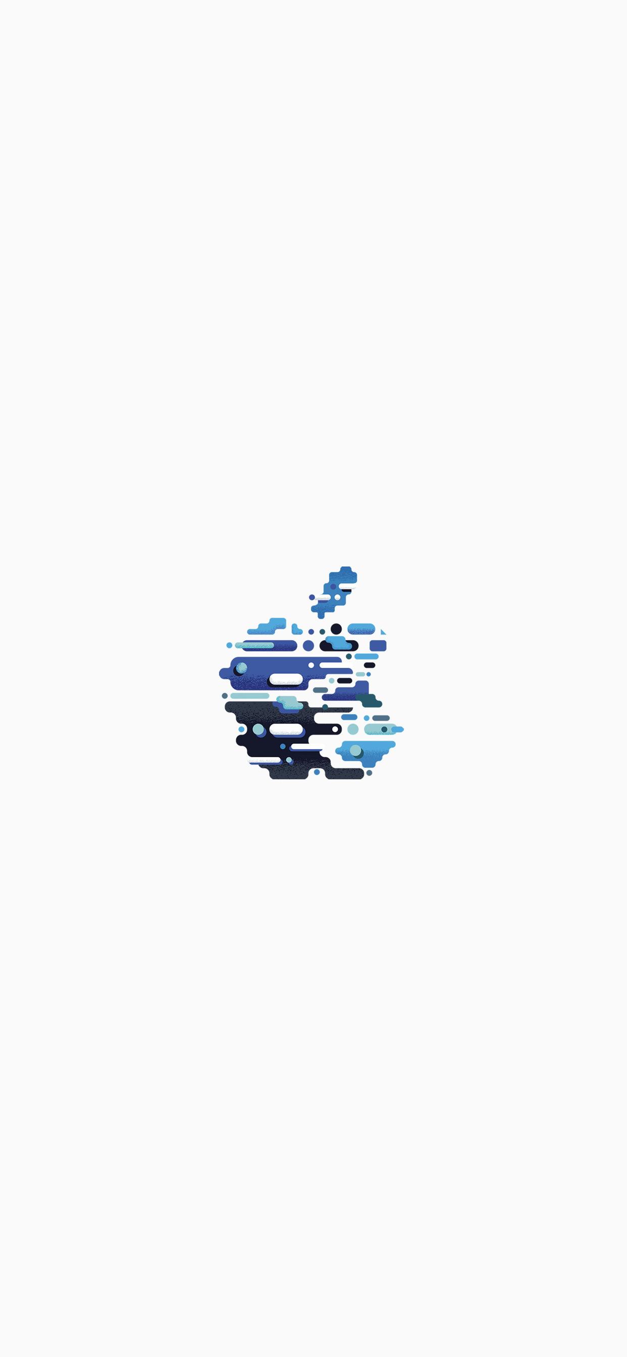 6 Fonds d'écran avec le logo Apple pour iPhone