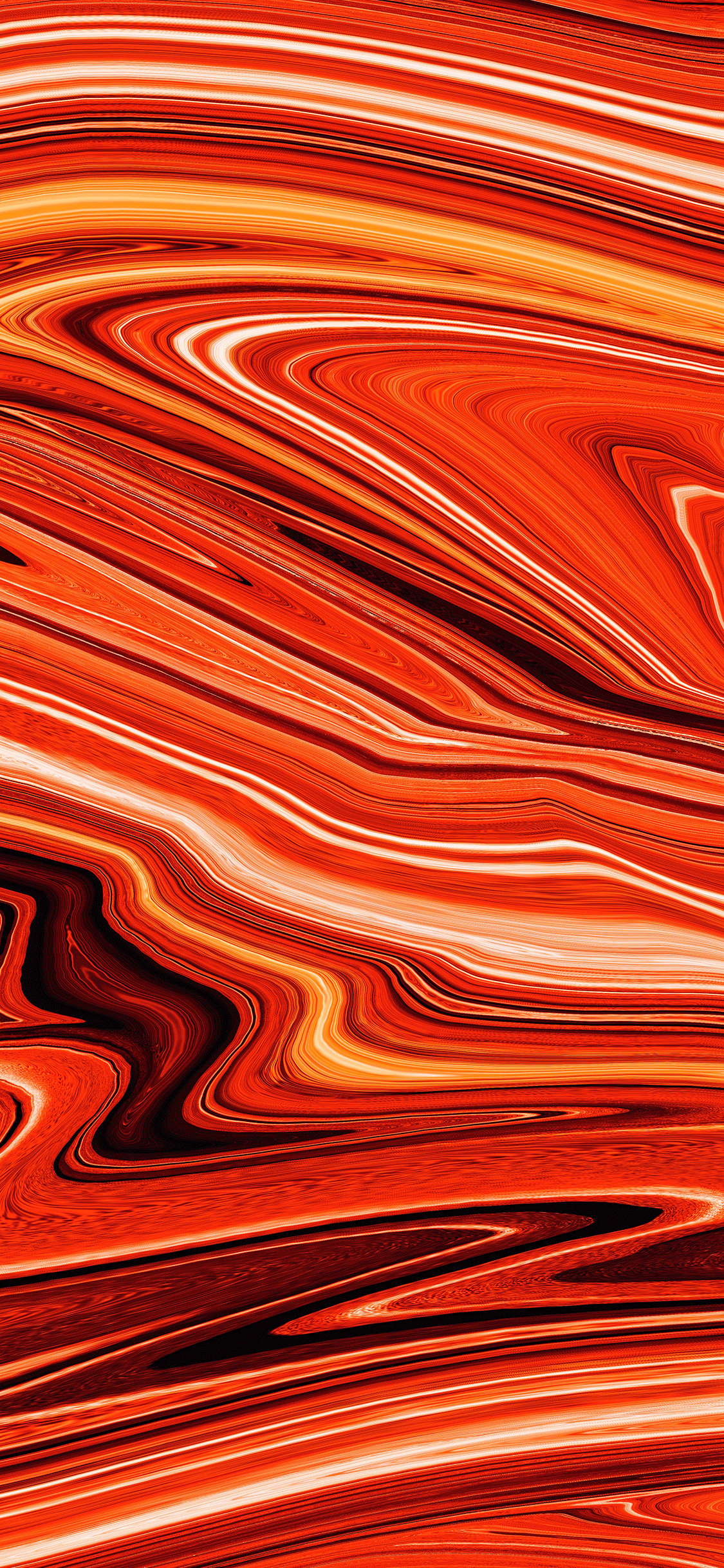 iPhone wallpaper abstract shine orange Fonds d'écran iPhone du 15/10/2018