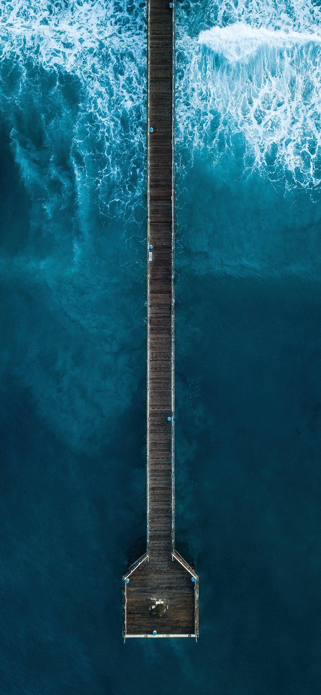 iPhone wallpaper aerial photo bridge Aerial Photos