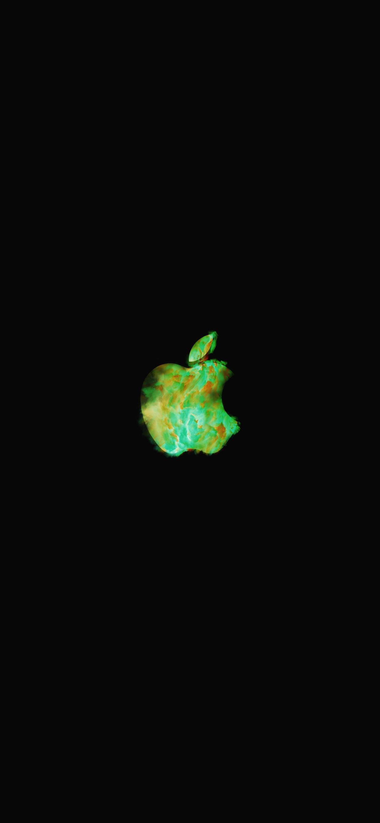 iPhone wallpaper apple logo 20 Fonds décran noirs avec le logo Apple en très haute résolution
