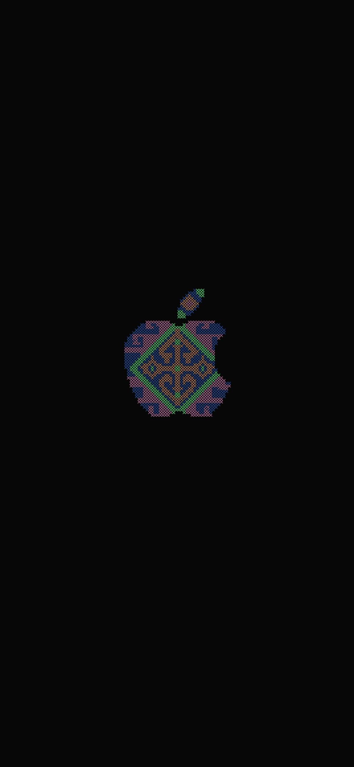 iPhone wallpaper apple logo 33 Fonds décran noirs avec le logo Apple en très haute résolution