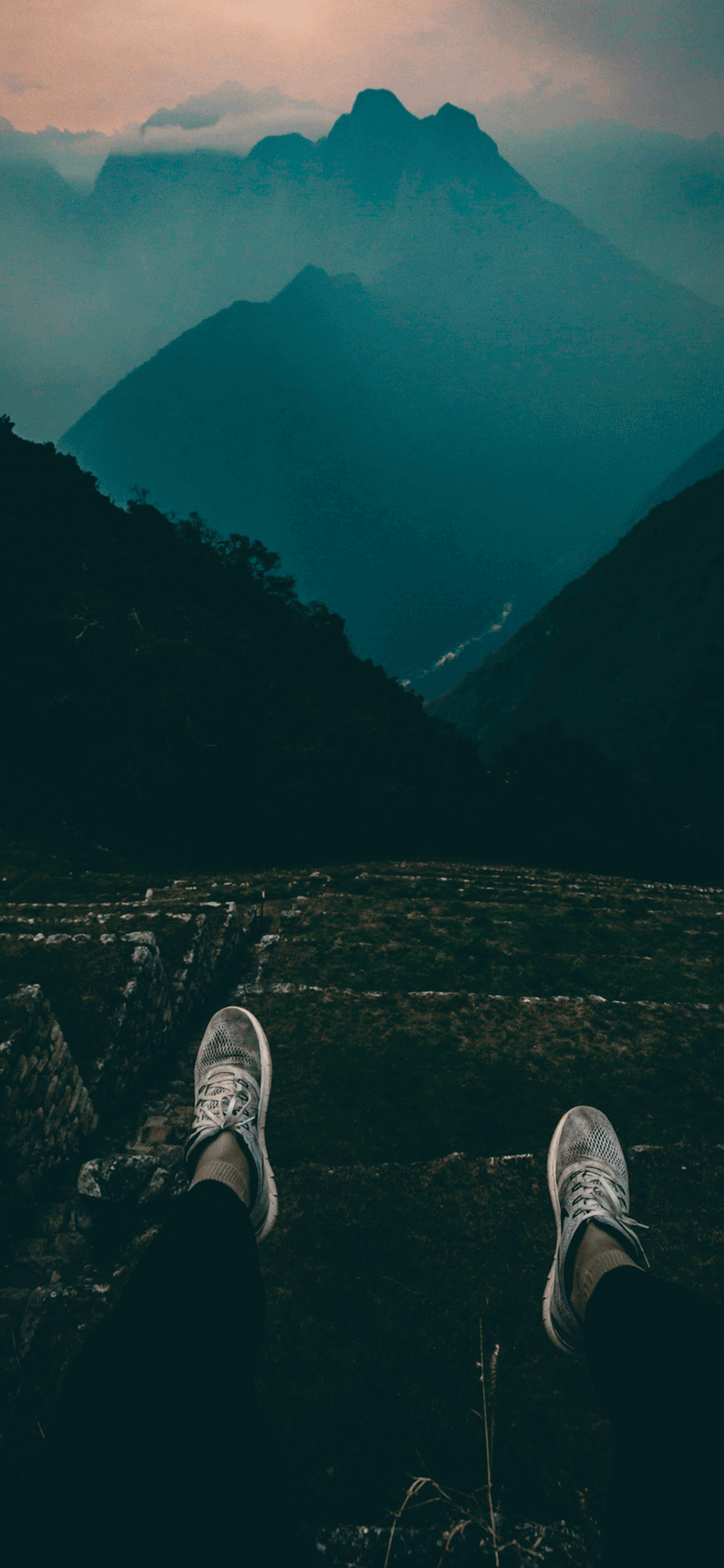 iPhone wallpaper machu picchu view Machu Picchu