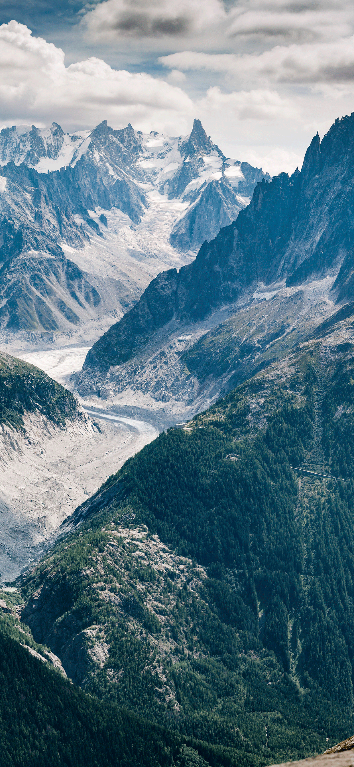 iPhone wallpaper mountains chamonix Mountains
