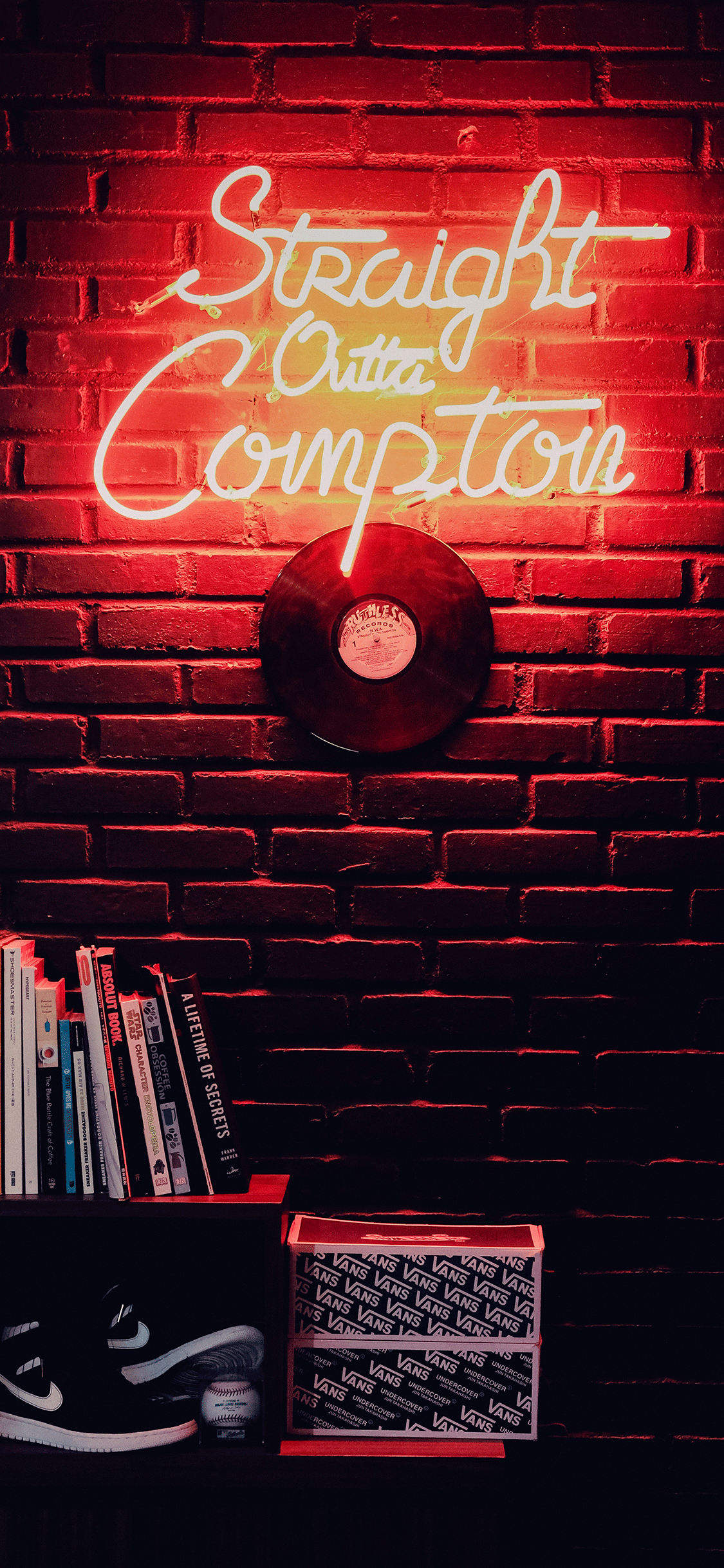 iPhone wallpaper neon sign compton Fonds d'écran iPhone du 19/10/2018