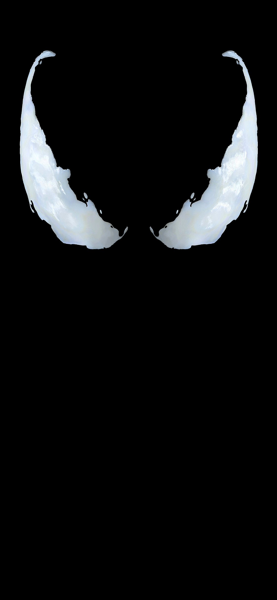 iPhone wallpaper venom movie dark Venom