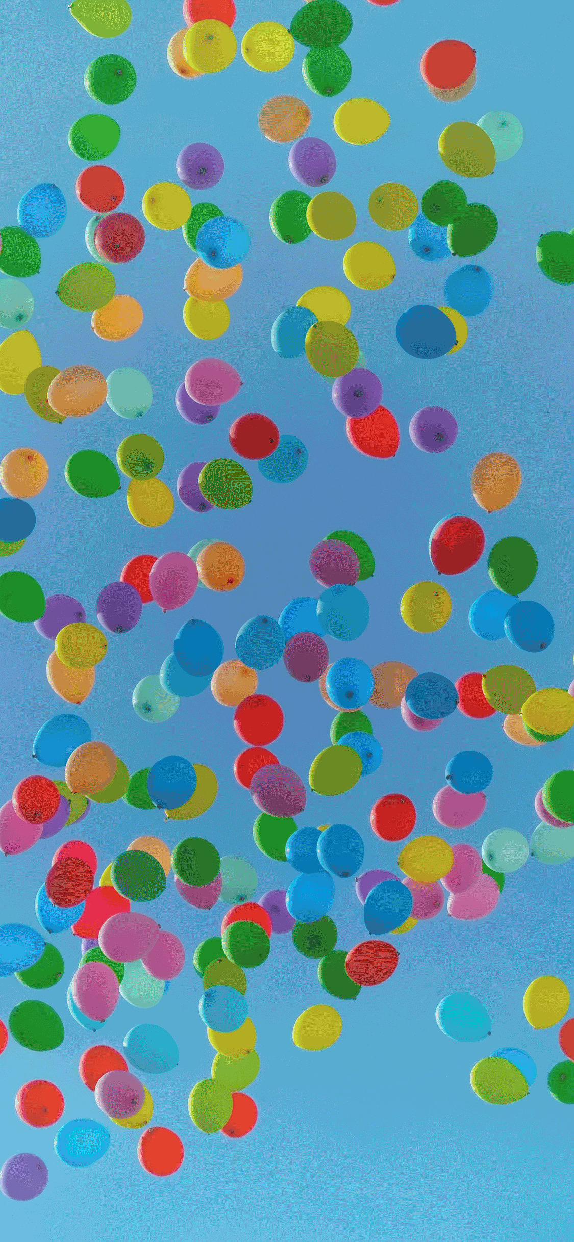 iPhone wallpapers colors balloons Colors