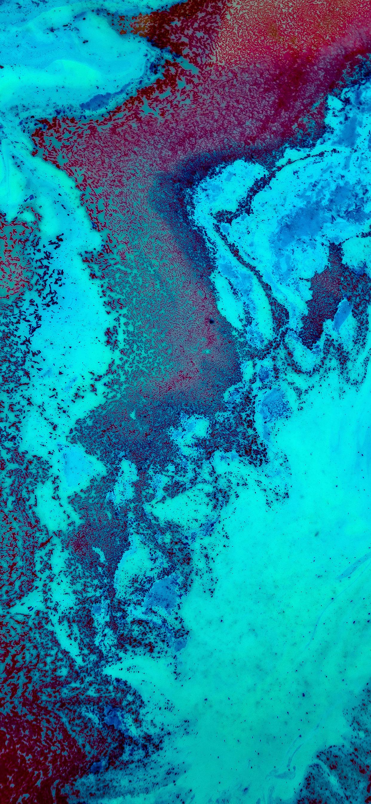 iPhone wallpaper abstract liquid green Fonds d'écran iPhone du 22/11/2018