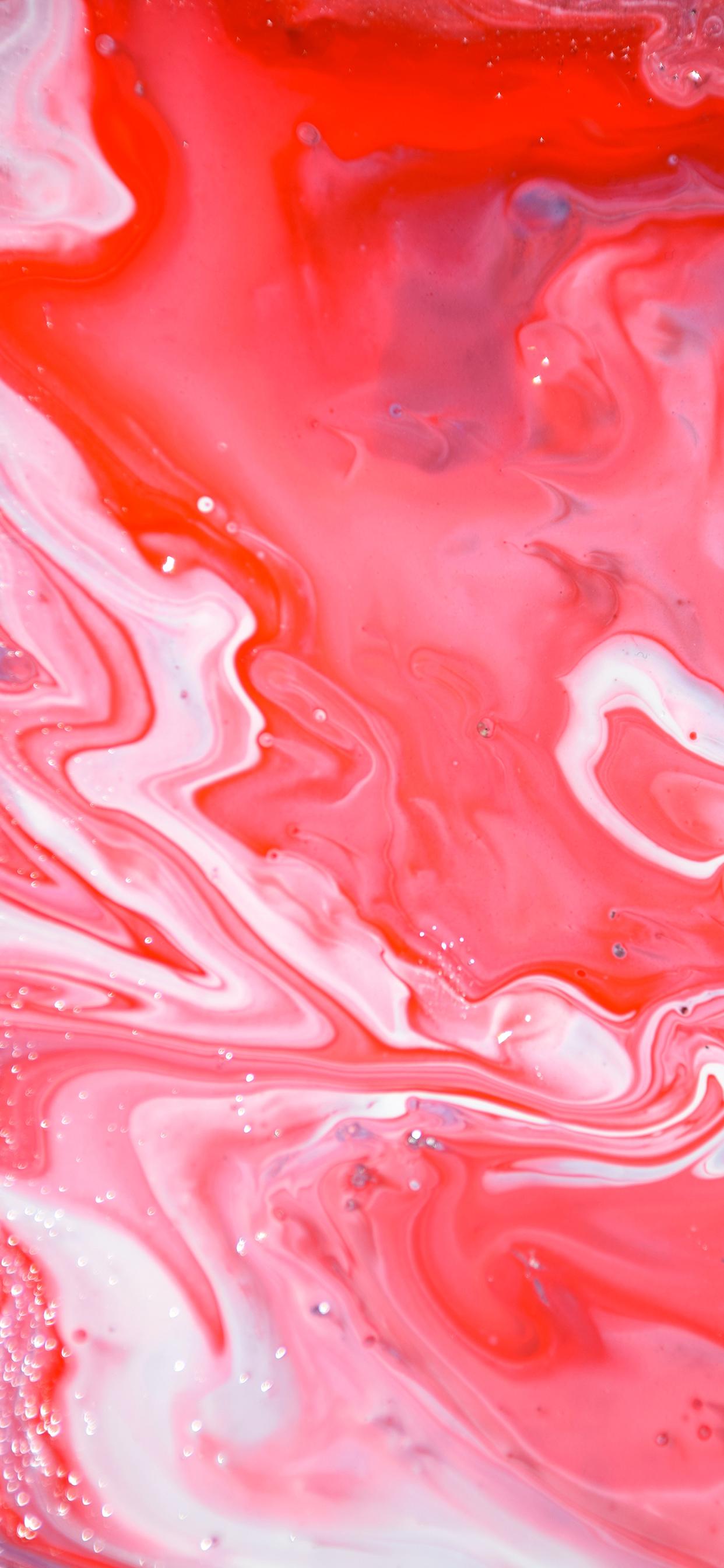 iPhone wallpaper abstract liquid pink Fonds d'écran iPhone du 22/11/2018