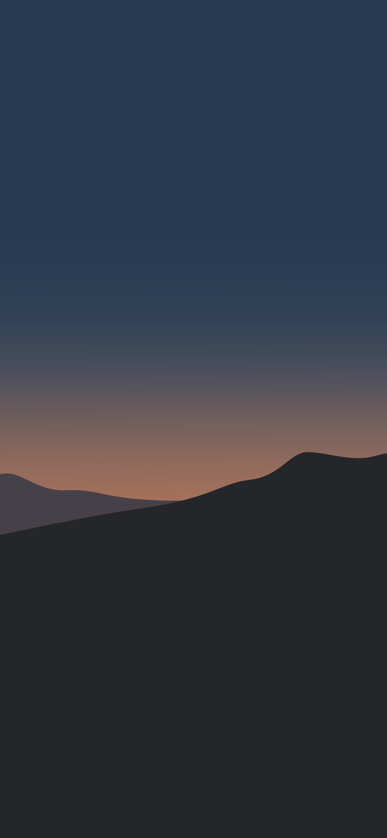 iPhone wallpaper illustration sunset Illustration