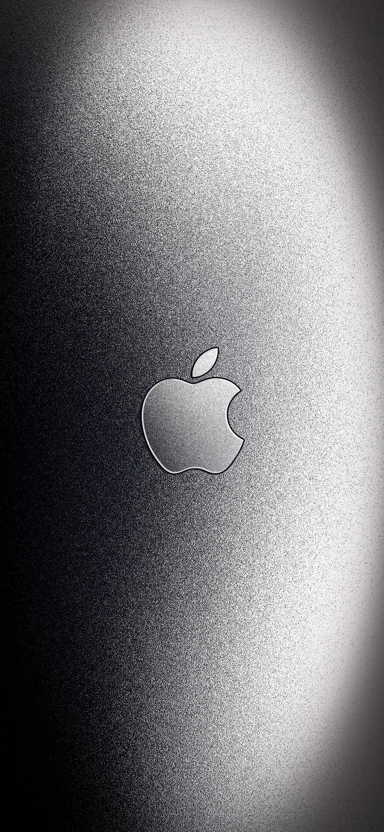 iPhone wallpaper texture logo apple grey Fonds d'écran iPhone du 21/01/2019
