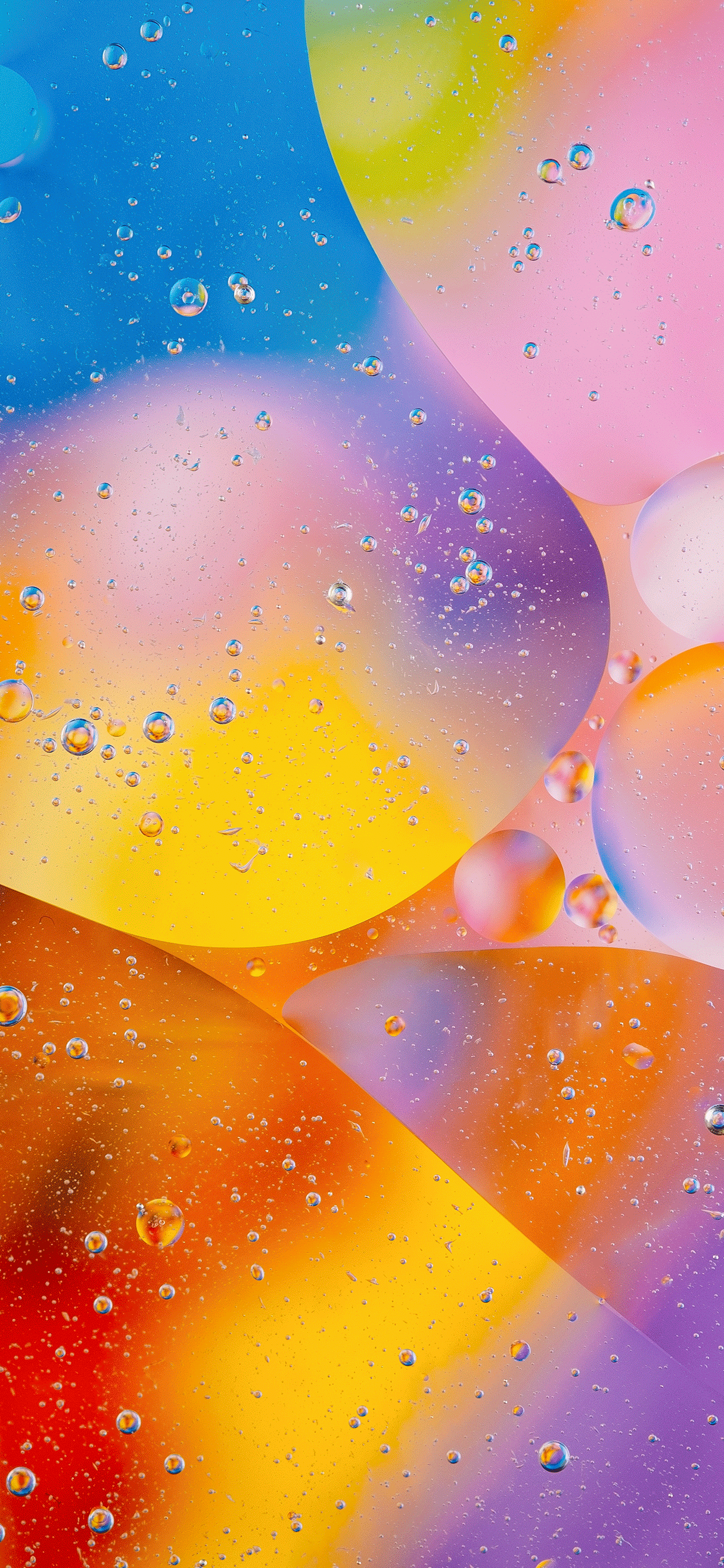 iPhone wallpapers abstract bubbles colors Fonds d'écran iPhone du 26/02/2019