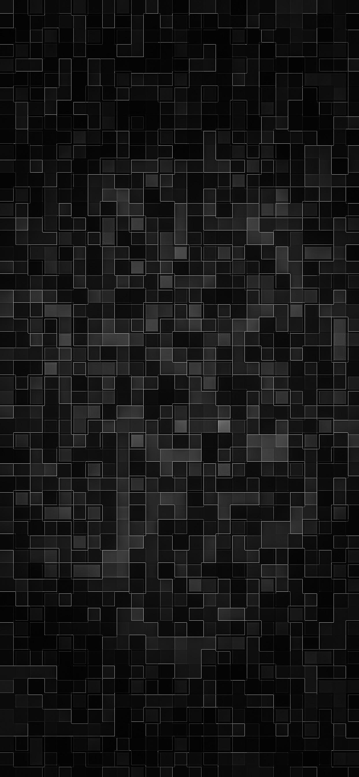 iPhone wallpaper abstract dark mosaic Abstract