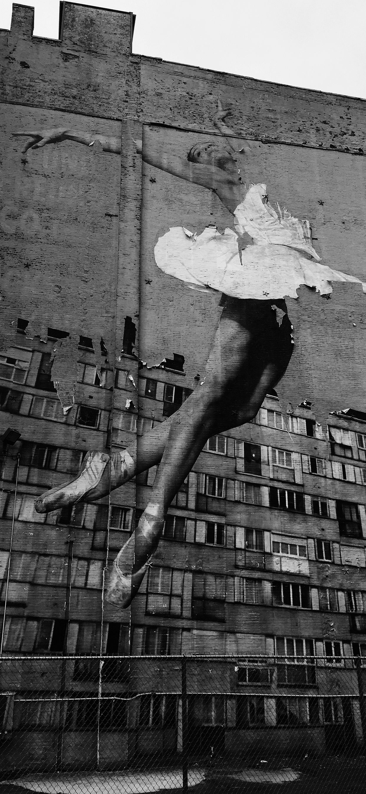 iPhone wallpaper graffiti ballet dancer Graffiti