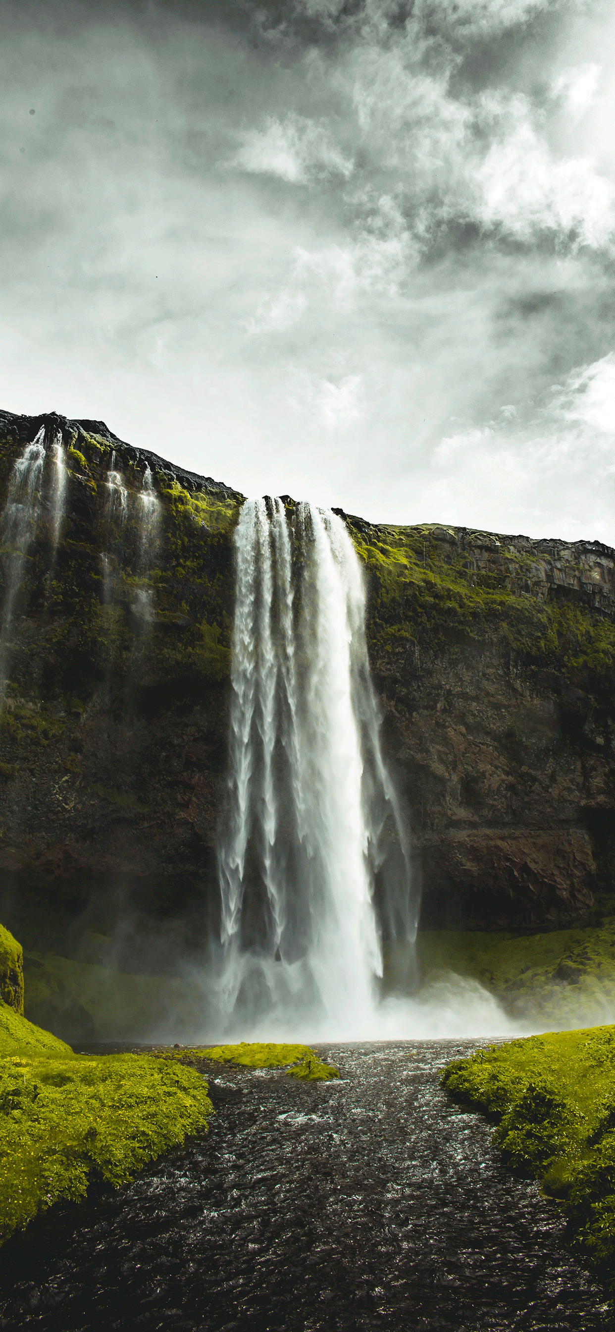 iPhone wallpaper iceland seljalandsfoss Fonds d'écran iPhone du 18/03/2019