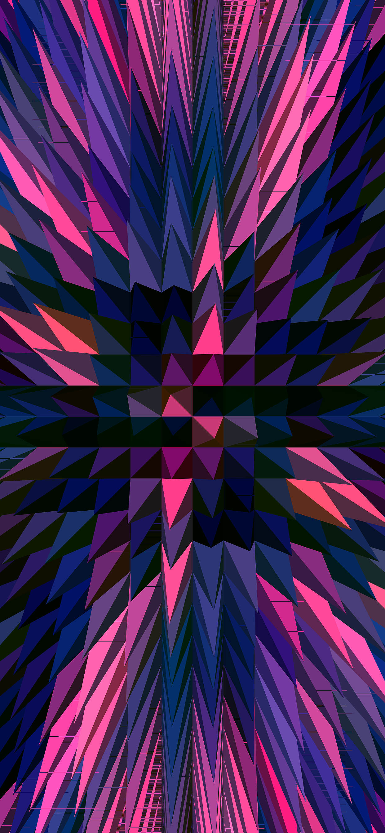 iPhone wallpapers abstractpyramids 3D multicolors Fonds d'écran iPhone du 05/03/2019
