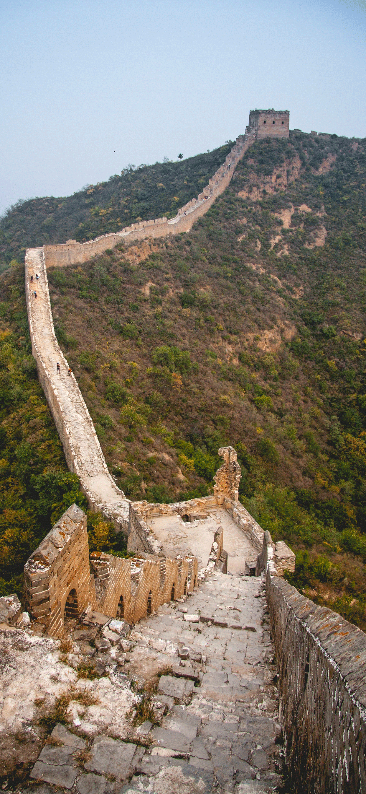 iPhone wallpapers great wall of china autumn Fonds d'écran iPhone du 25/03/2019
