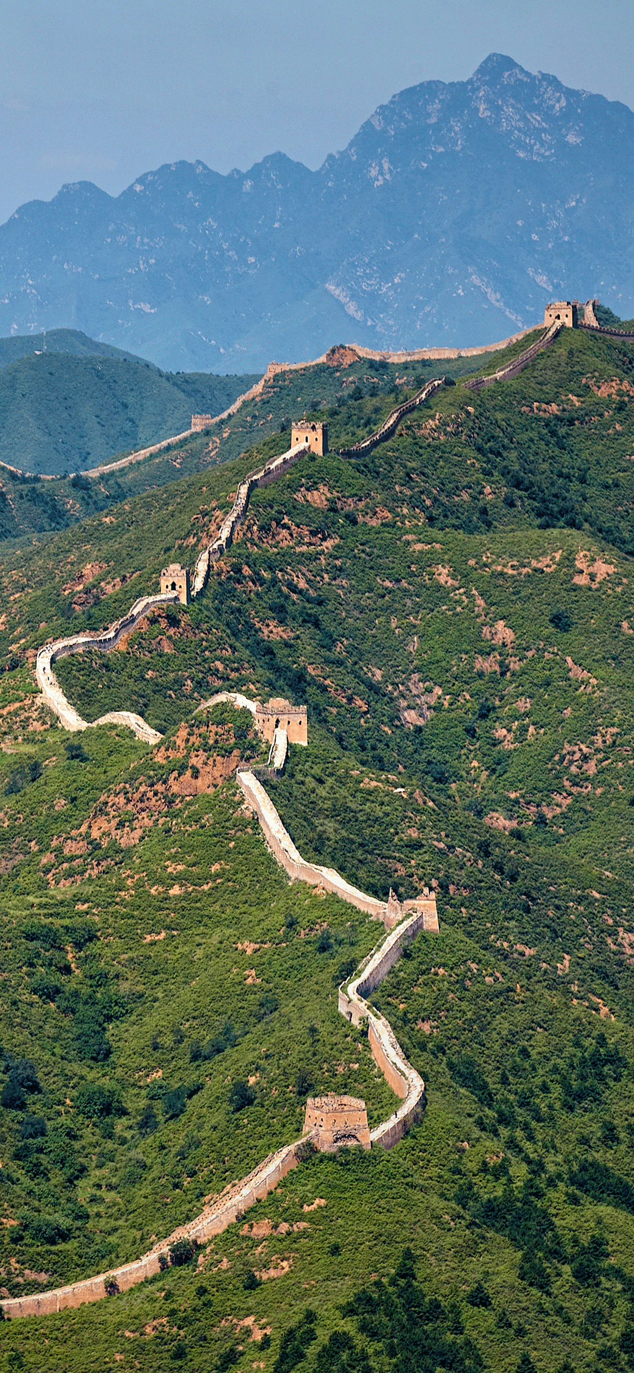 iPhone wallpapers great wall of china mountains The great Wall of China