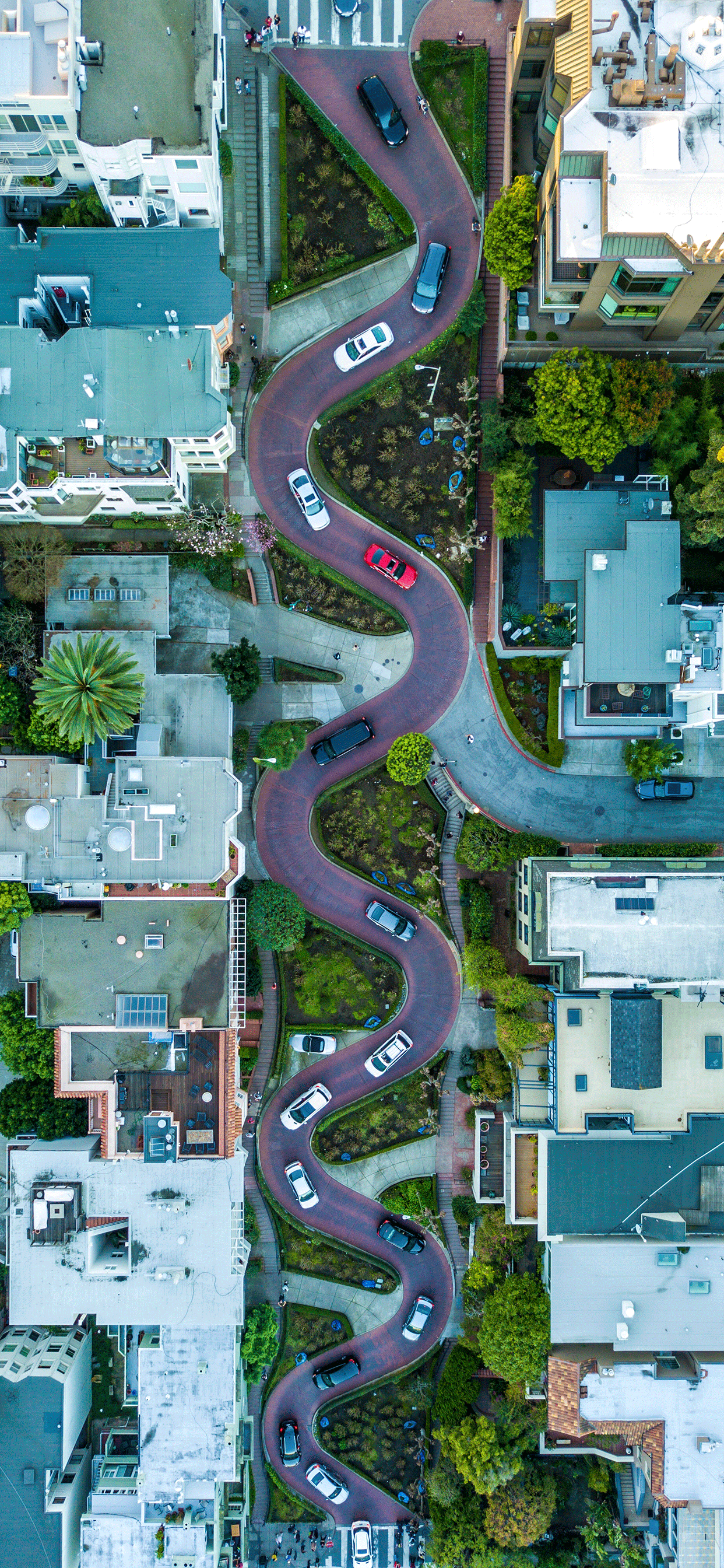 iPhone wallpaper aerial images san francisco Aerial images
