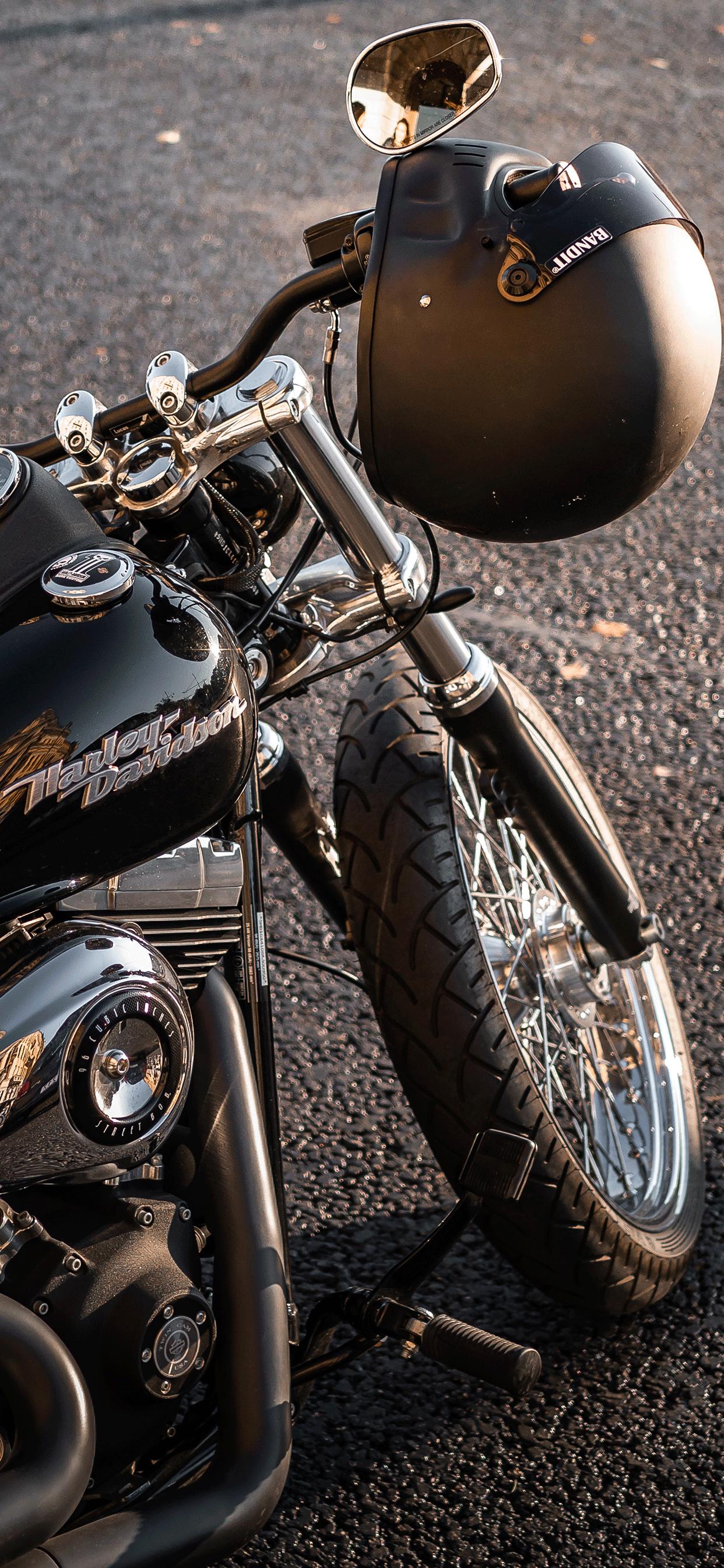 iPhone wallpaper harley davidson black Harley Davidson