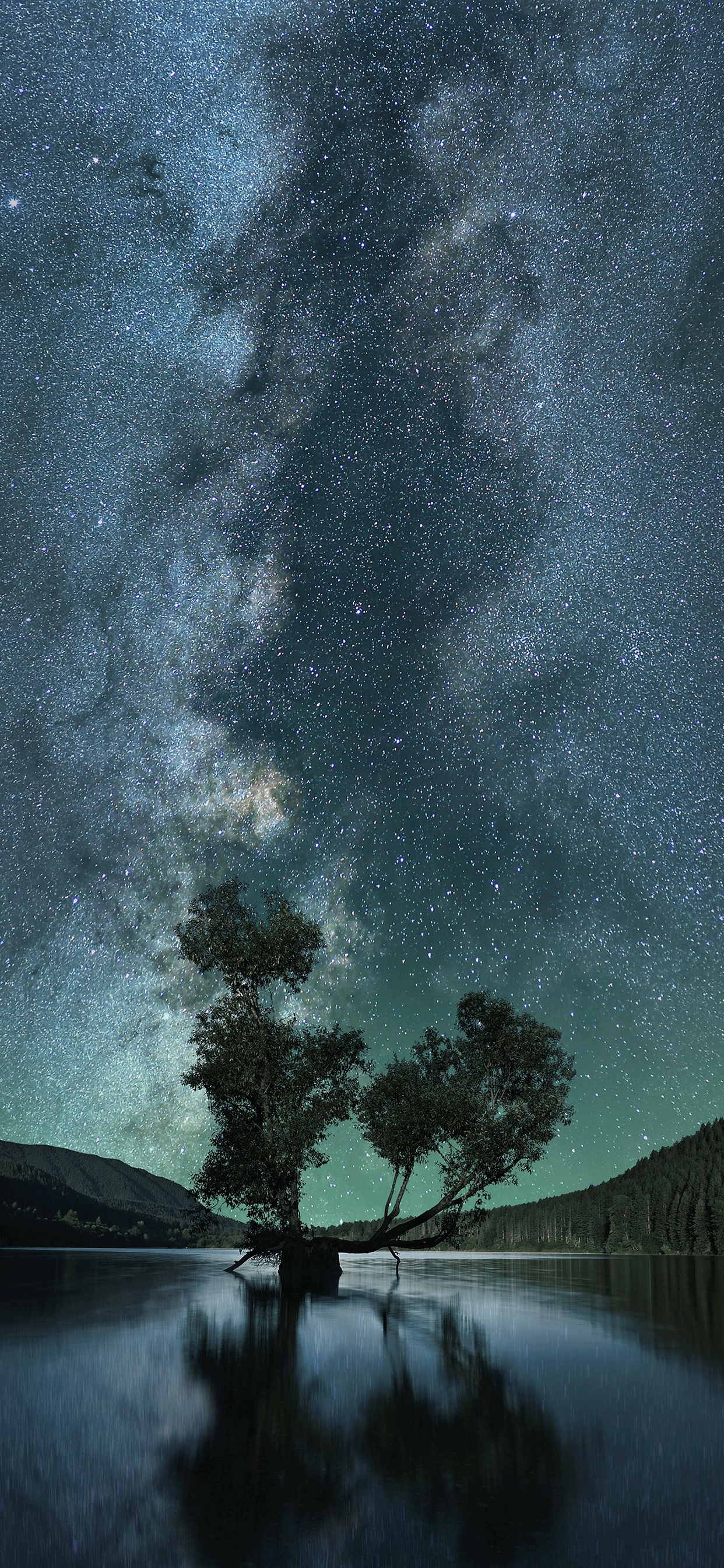 iPhone wallpaper stars rattlesnake lake Stars