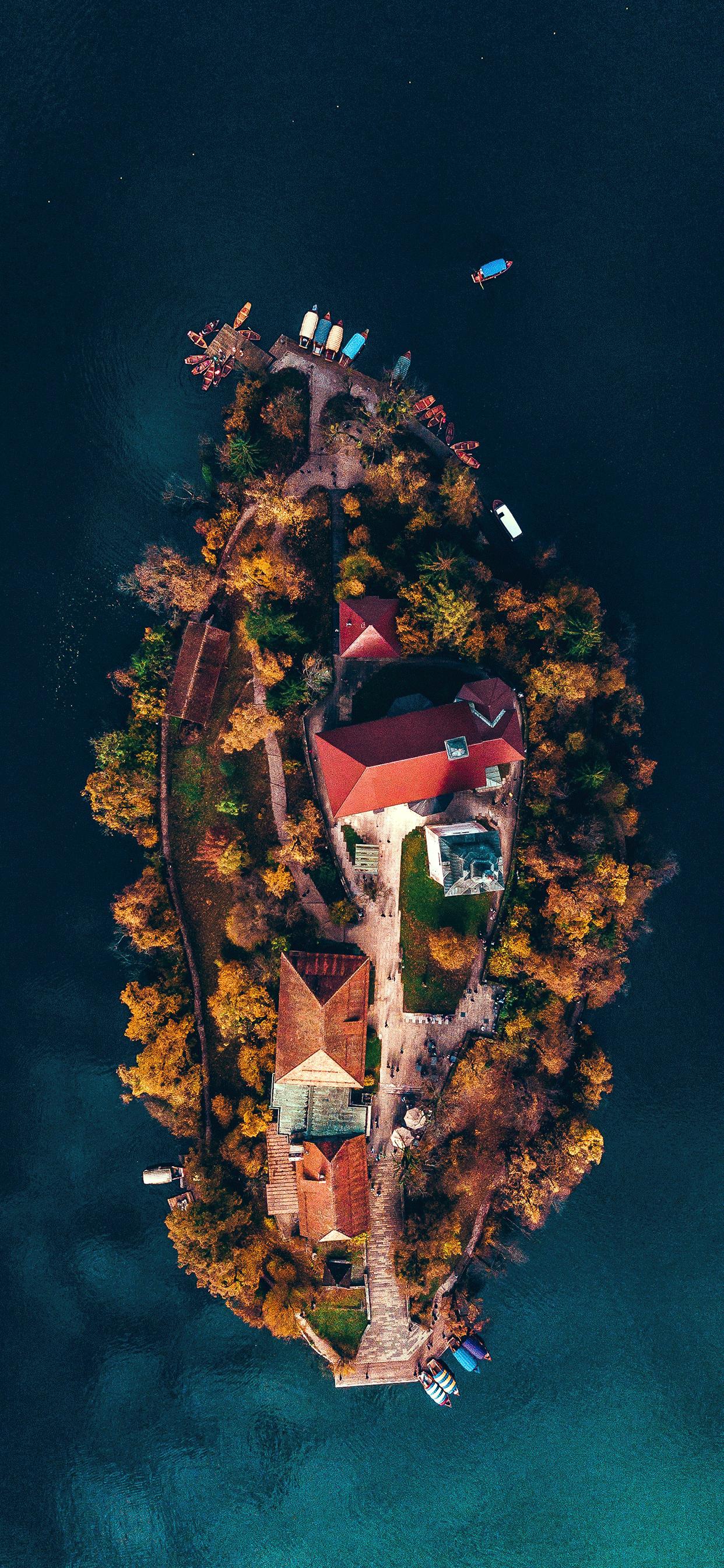 iPhone wallpapers island slovenia Island