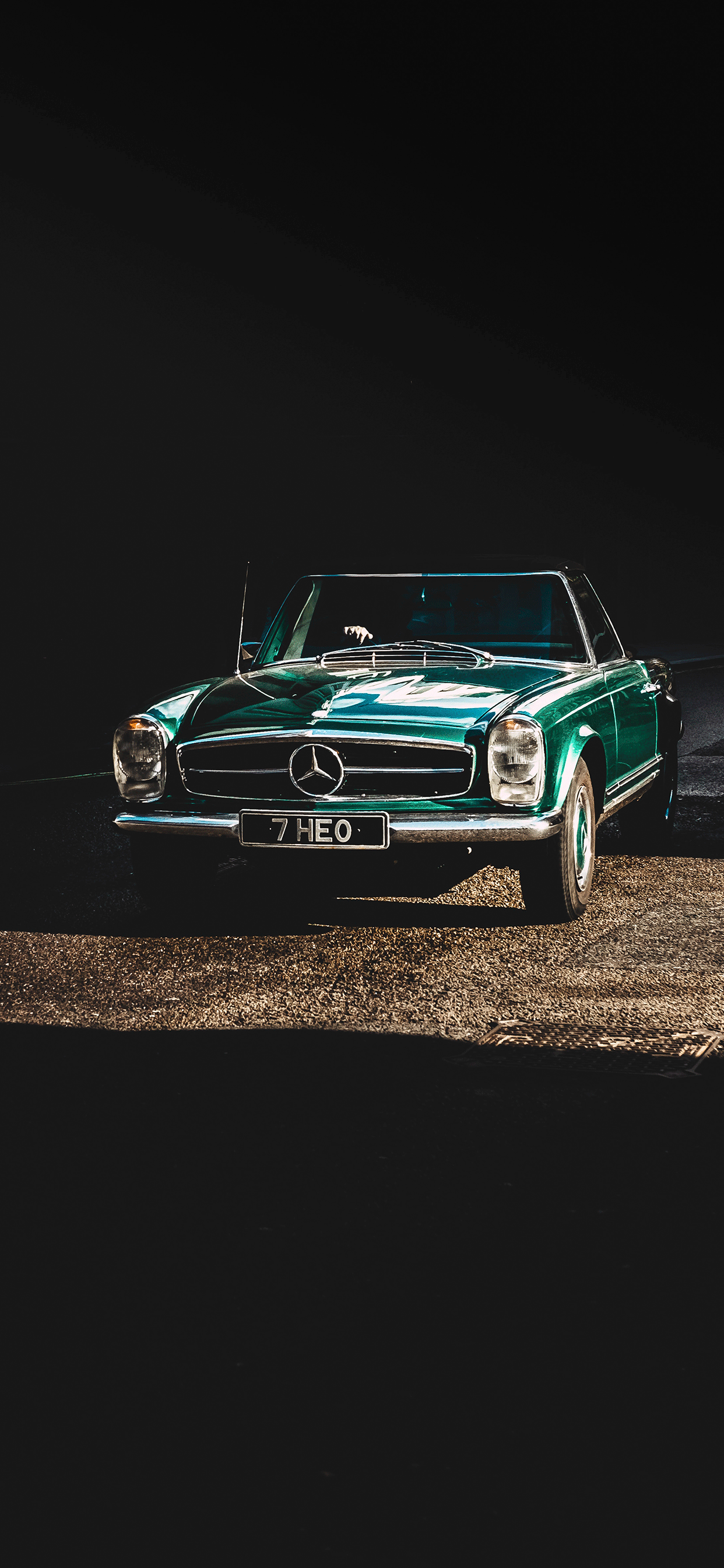 iPhone wallpapers mercedes benz green Mercedes Benz