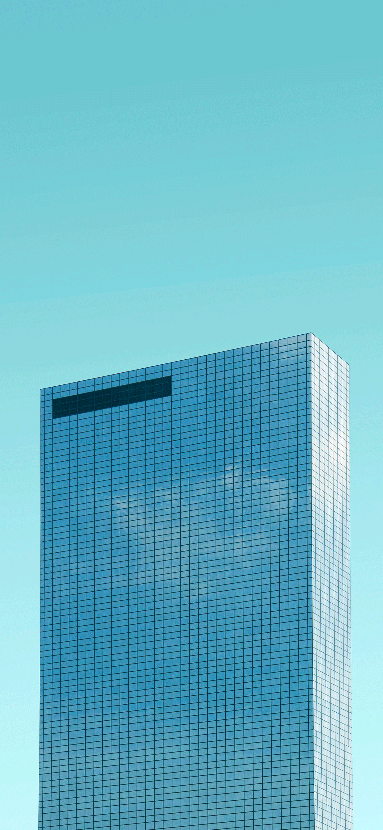 iPhone wallpaper blue background building Fonds d'écran iPhone du 06/05/2019