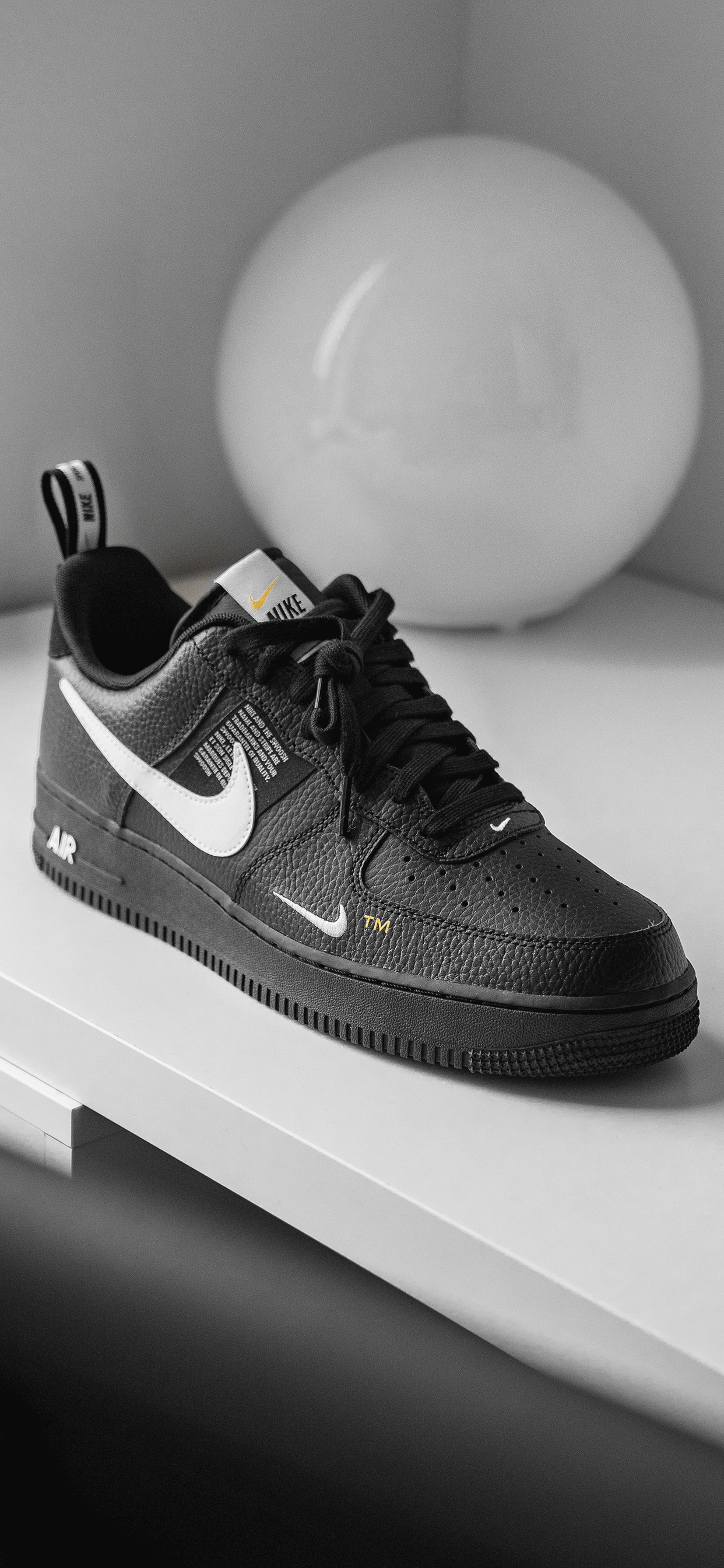 meilleur authentique 09bdd cb9a2 Nike Air Force 1 Wallpaper for iPhone X, 8, 7, 6 - Free ...