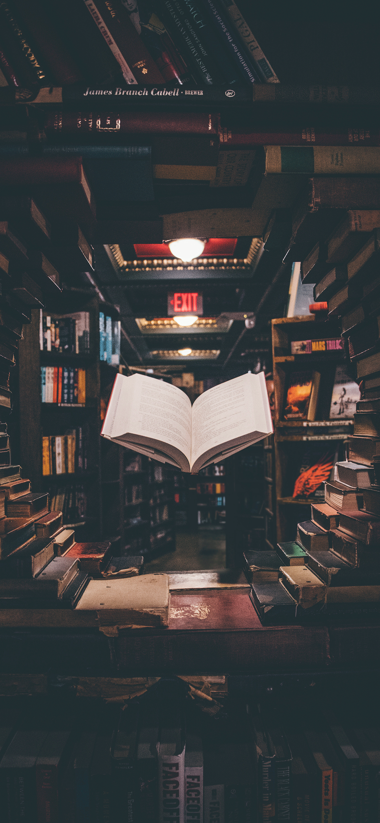 iPhone wallpapers books the last bookstore Fonds d'écran iPhone du 08/05/2019