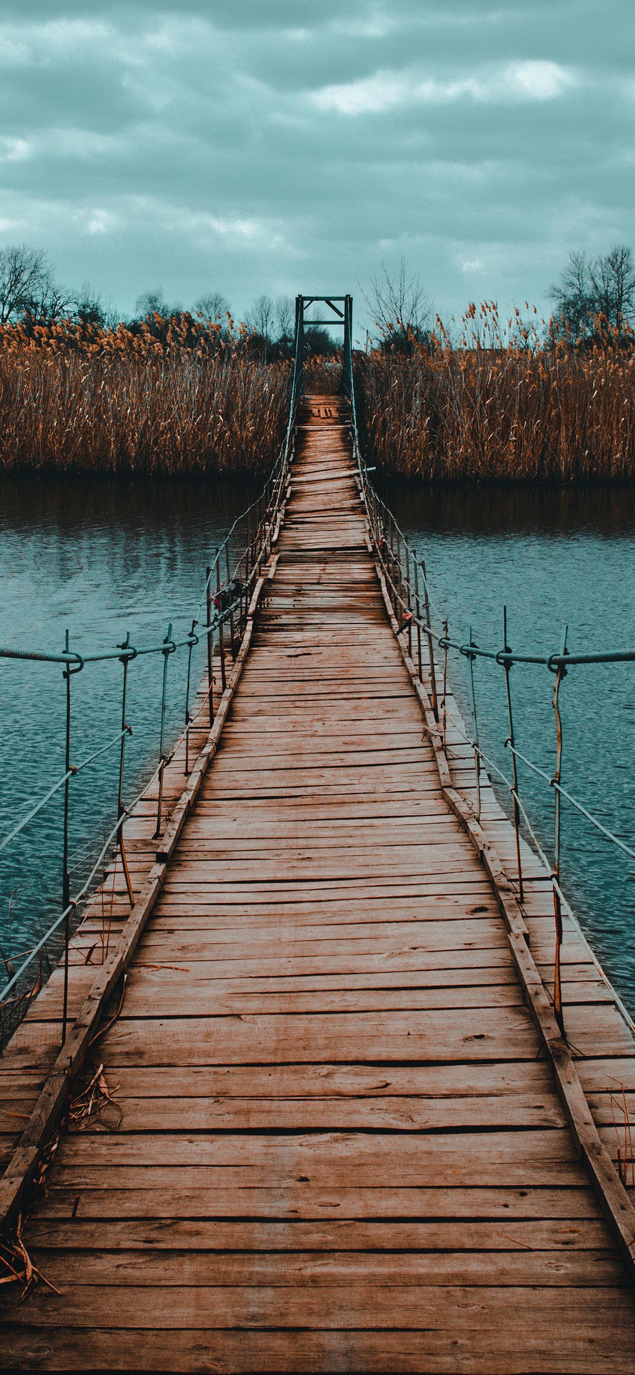 iPhone wallpapers bridge river Bridge
