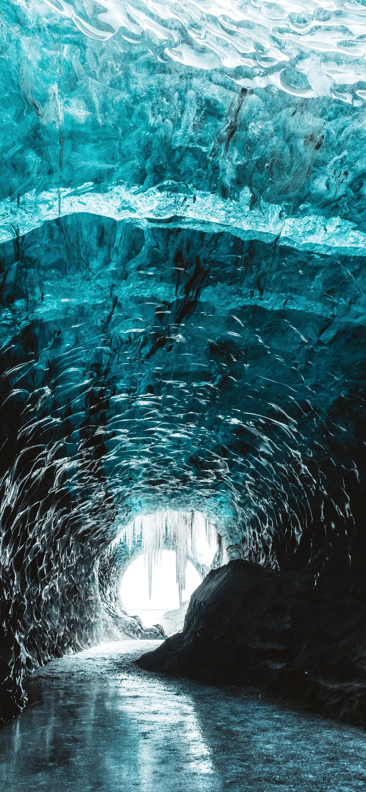 iPhone wallpapers cave glacier jokulsarlon Fonds d'écran iPhone du 22/05/2019