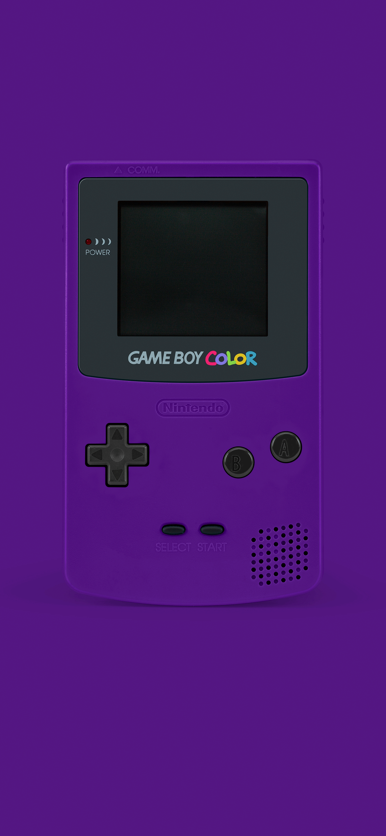 iPhone wallpapers game boy color purple Fonds d'écran iPhone du 10/05/2019