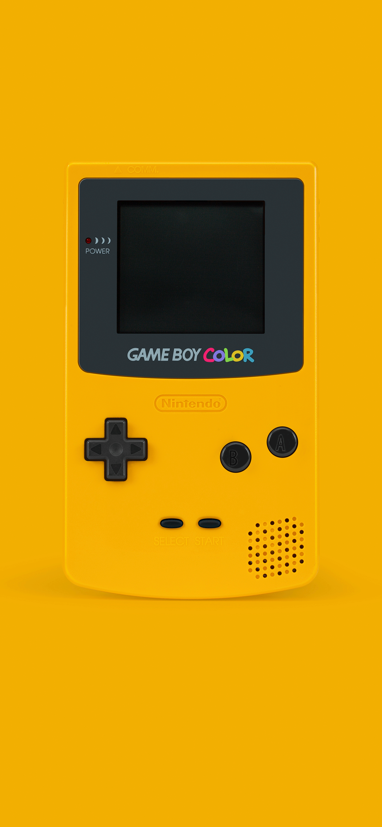 iPhone wallpapers game boy color yellow Fonds d'écran iPhone du 10/05/2019