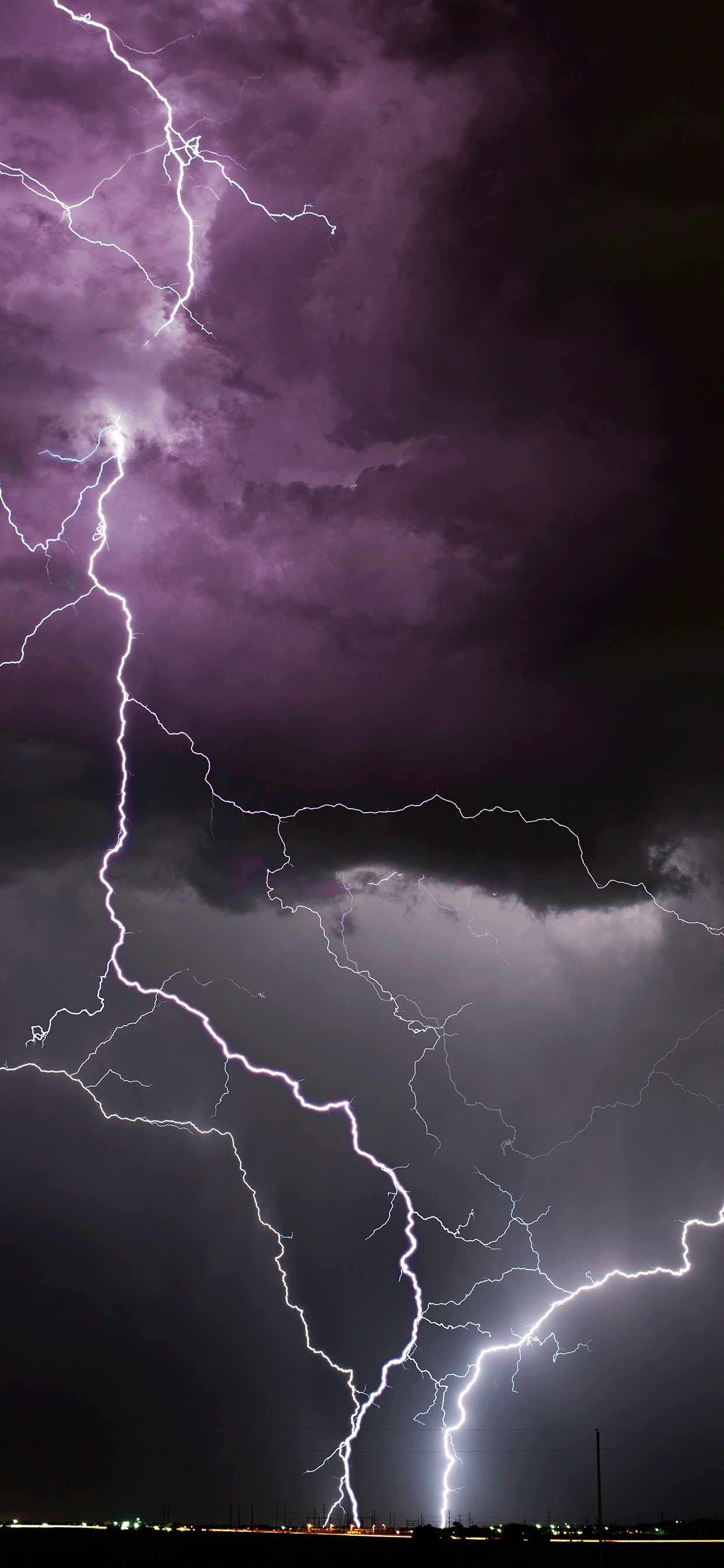 iPhone wallpapers lightning colorado springs Lightning