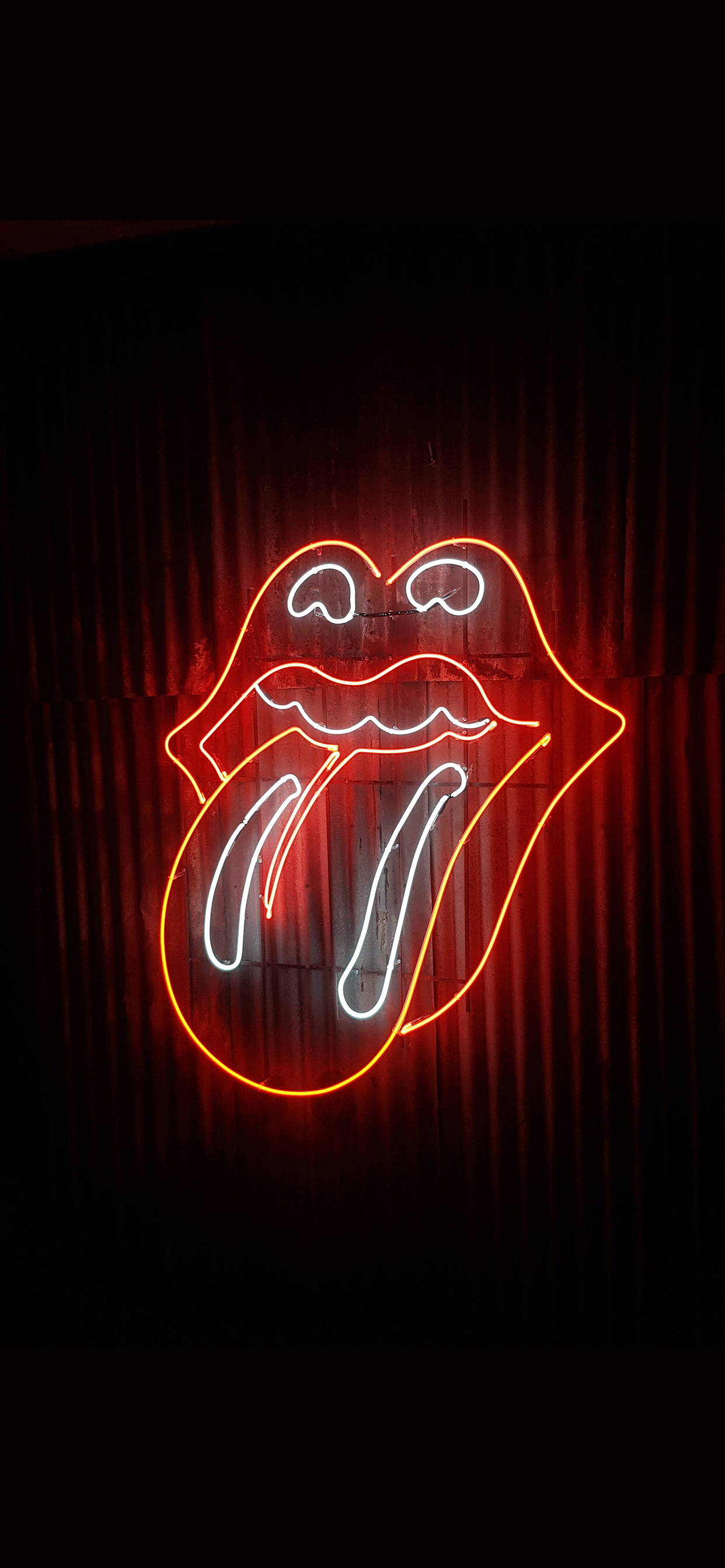 iPhone wallpapers neon mouth Neon sign
