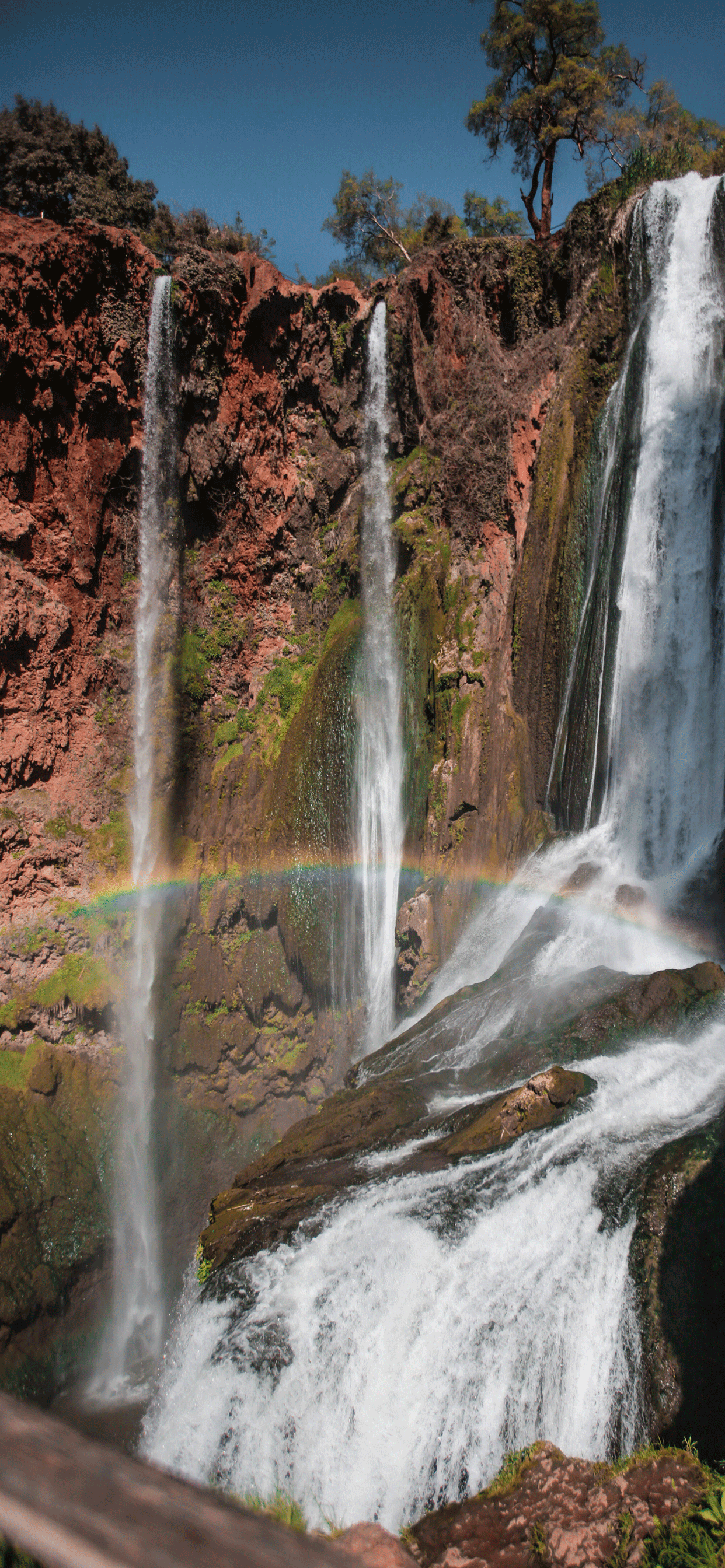 iPhone wallpapers rainbow waterfall Fonds d'écran iPhone du 24/05/2019