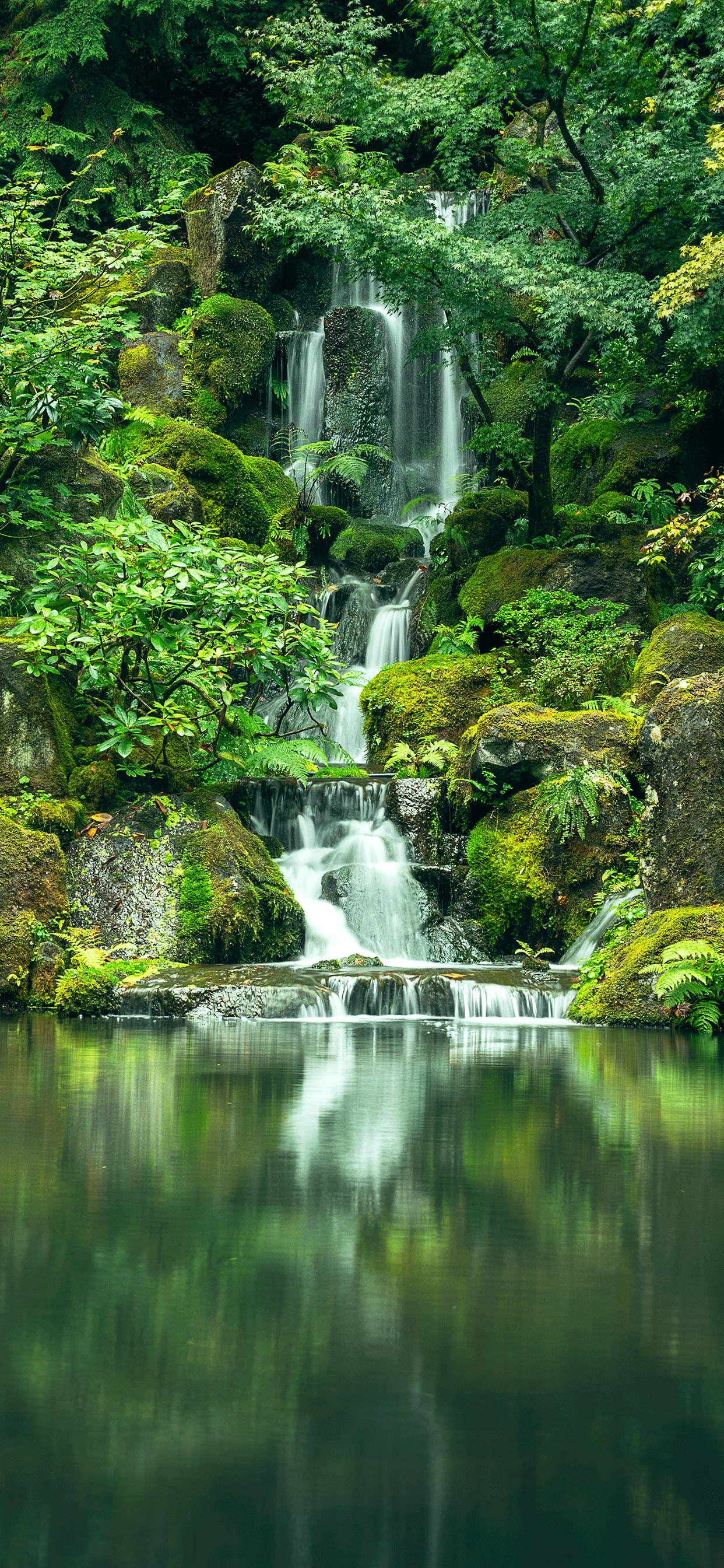 iPhone wallpapers river waterfall Fonds d'écran iPhone du 30/05/2019