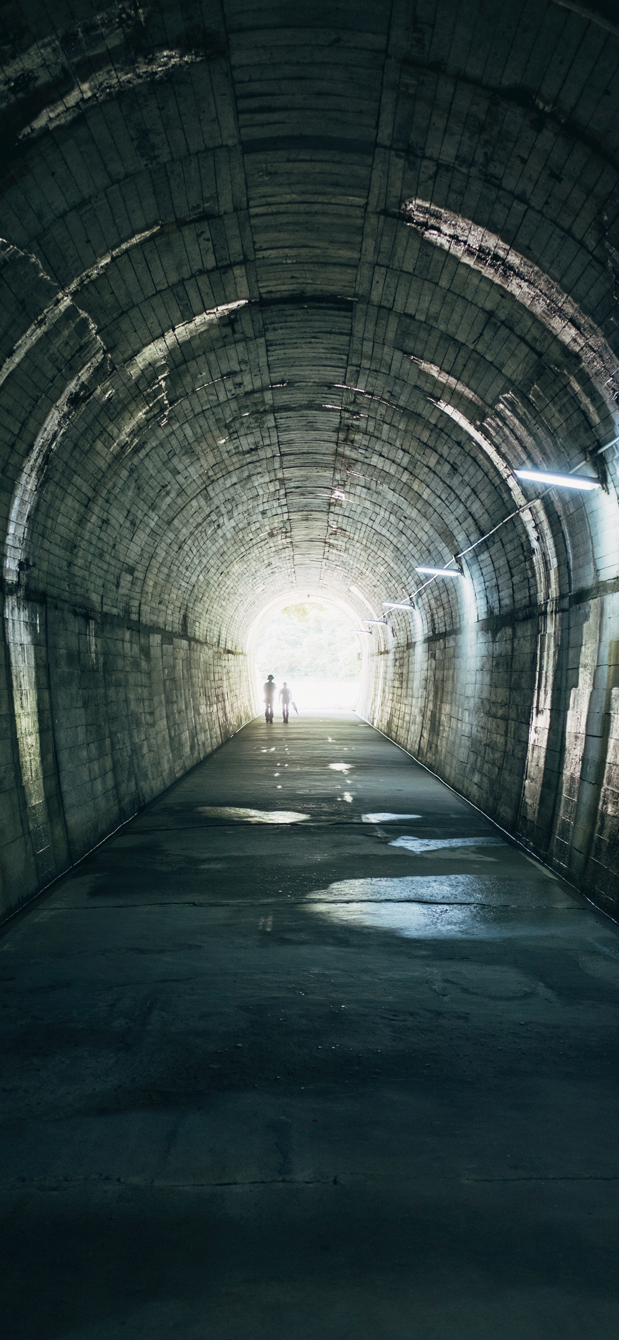 iPhone wallpapers tunnel kagoshima japan Fonds d'écran iPhone du 31/05/2019