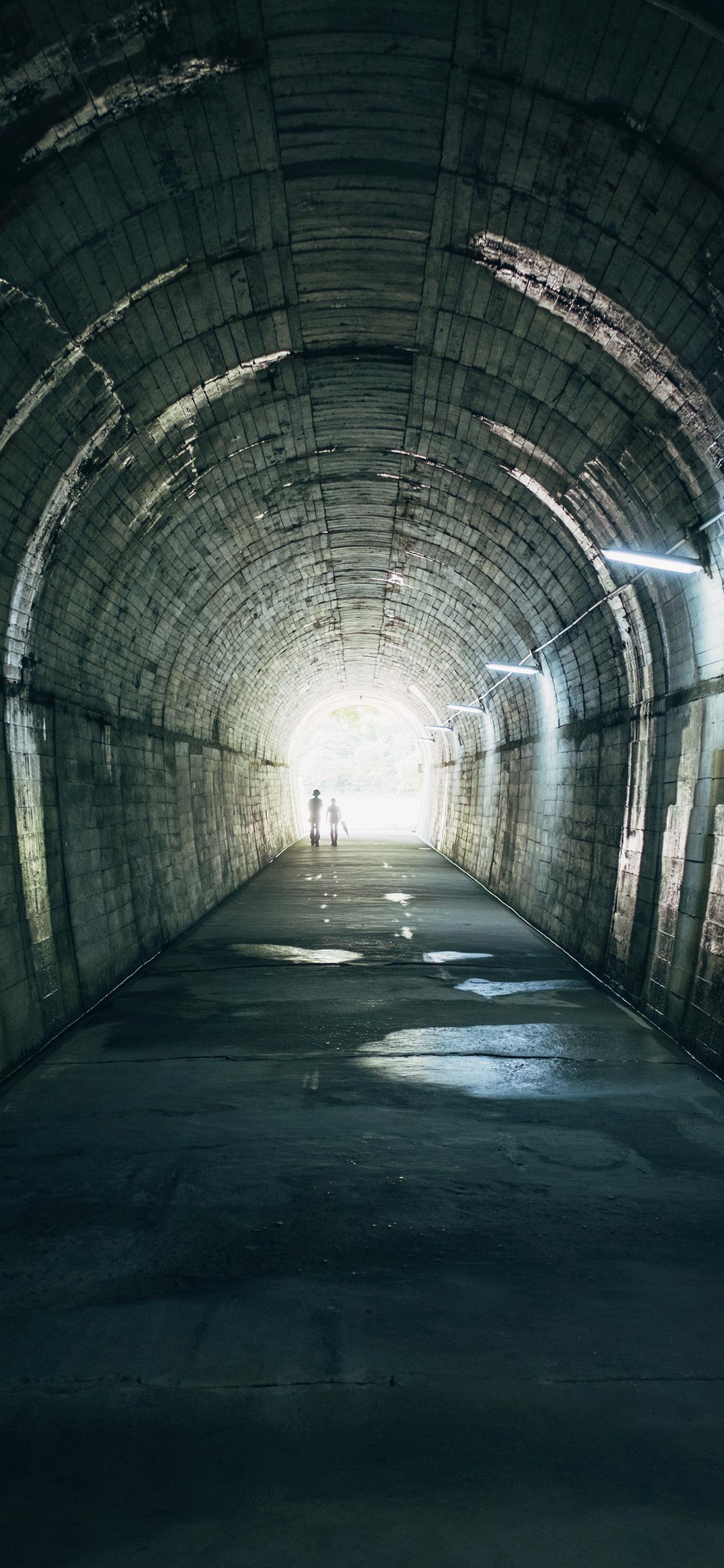 iPhone wallpapers tunnel kagoshima japan Tunnel