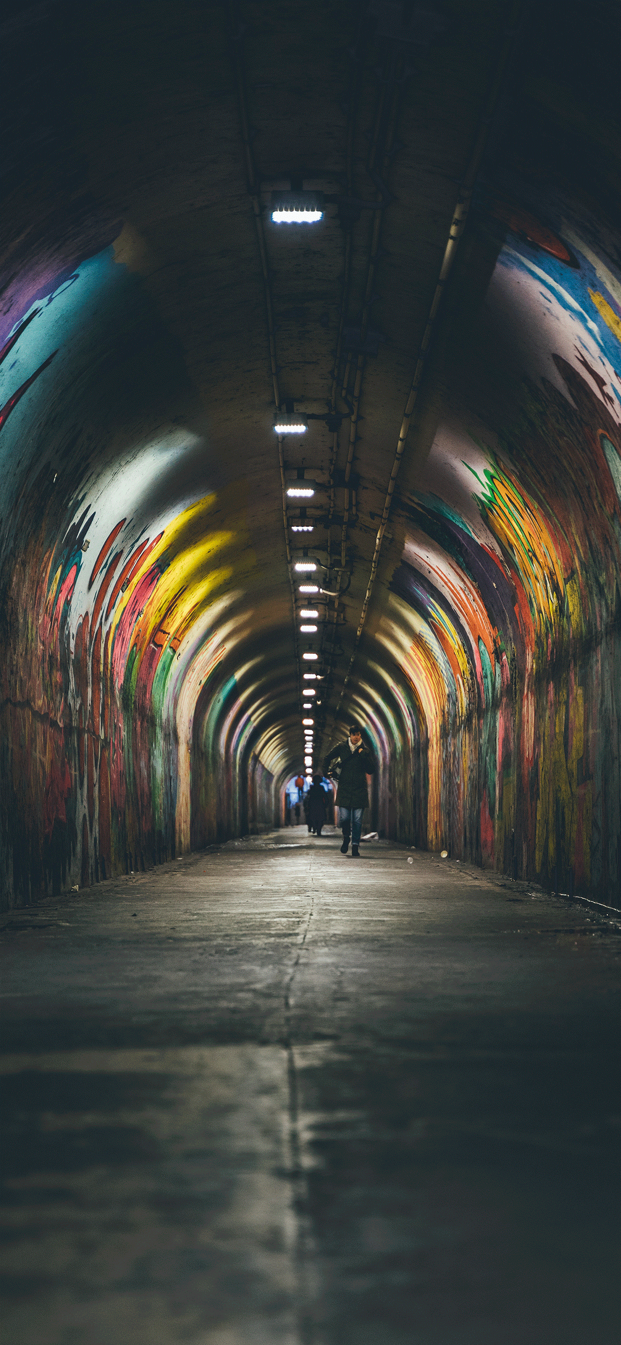 iPhone wallpapers tunnel new york Fonds d'écran iPhone du 31/05/2019