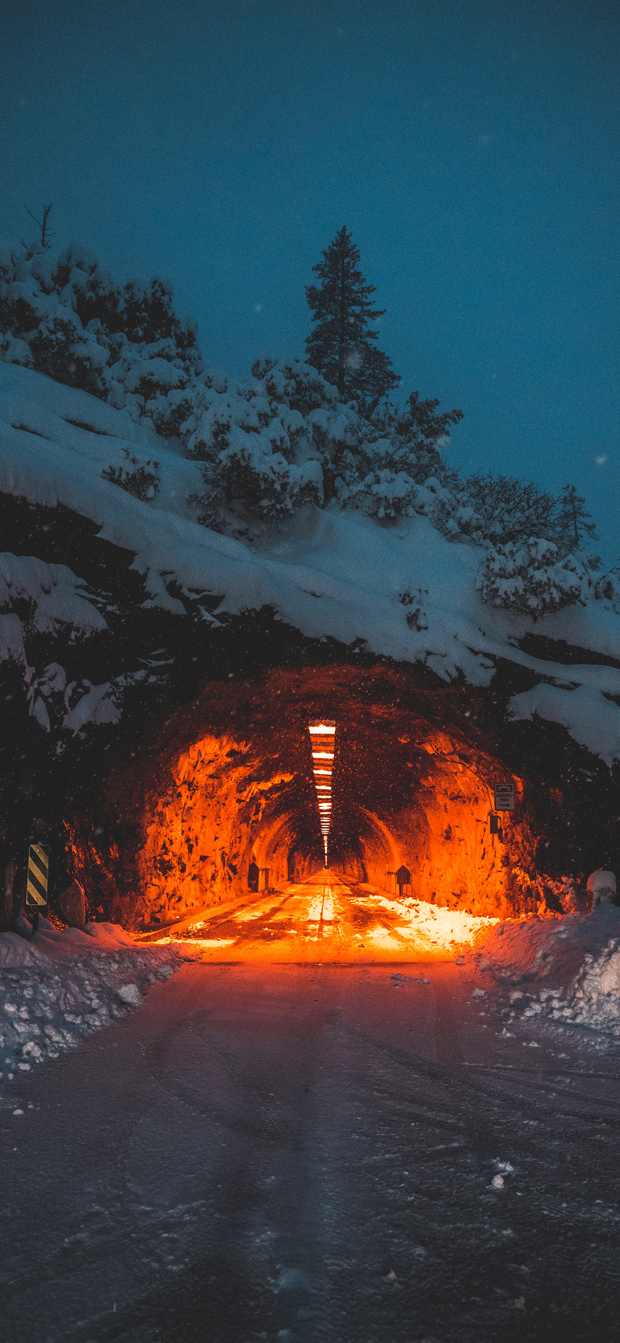 iPhone wallpapers tunnel yosemite valley Fonds d'écran iPhone du 31/05/2019